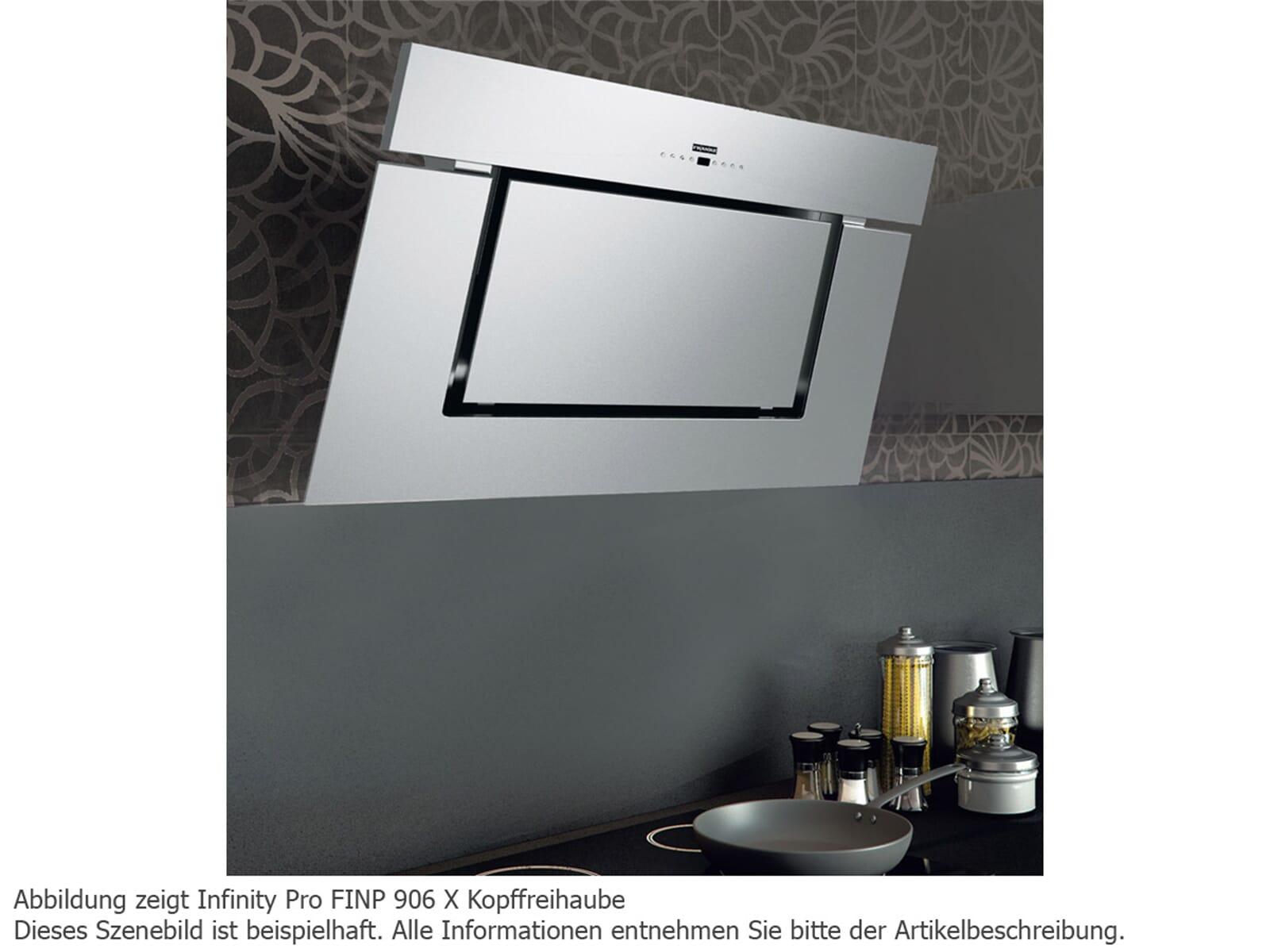 franke infinity pro finp 906 bk mt kopffreihaube schwarz matt. Black Bedroom Furniture Sets. Home Design Ideas