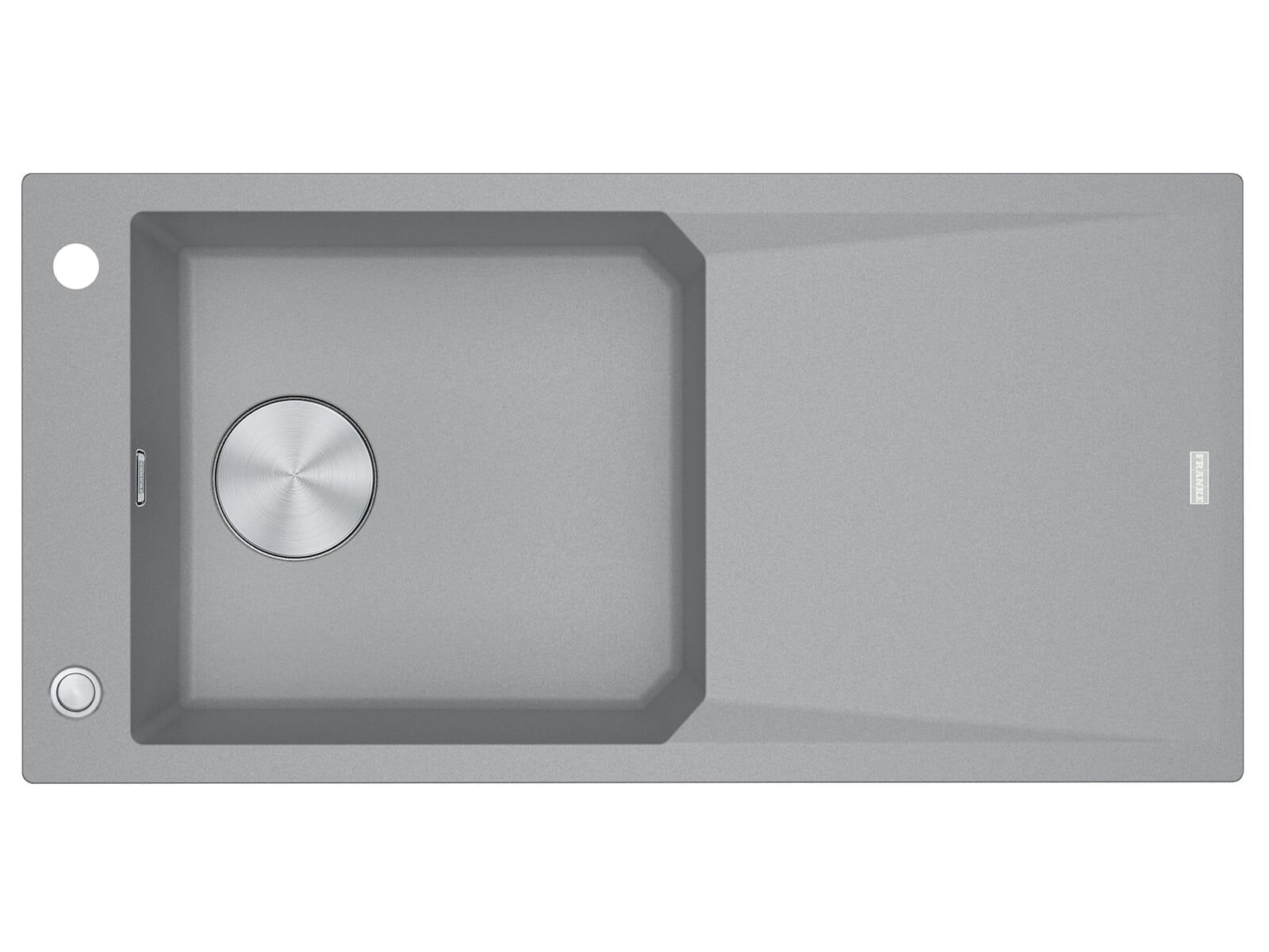 Franke FXG 611-100 Steingrau - 114.0512.362 Granitspüle Exzenterbetätigung