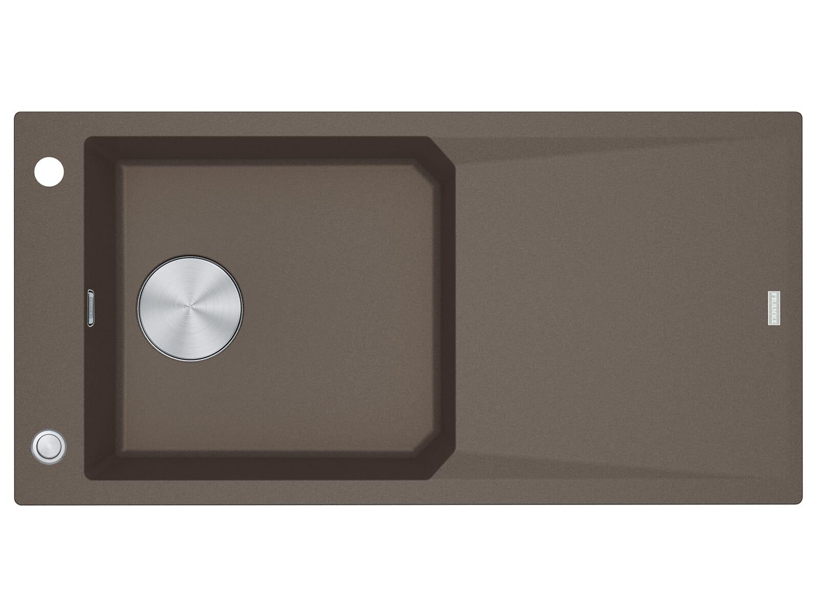 Franke FXG 611-100 Umbra - 114.0512.364 Granitspüle Exzenterbetätigung