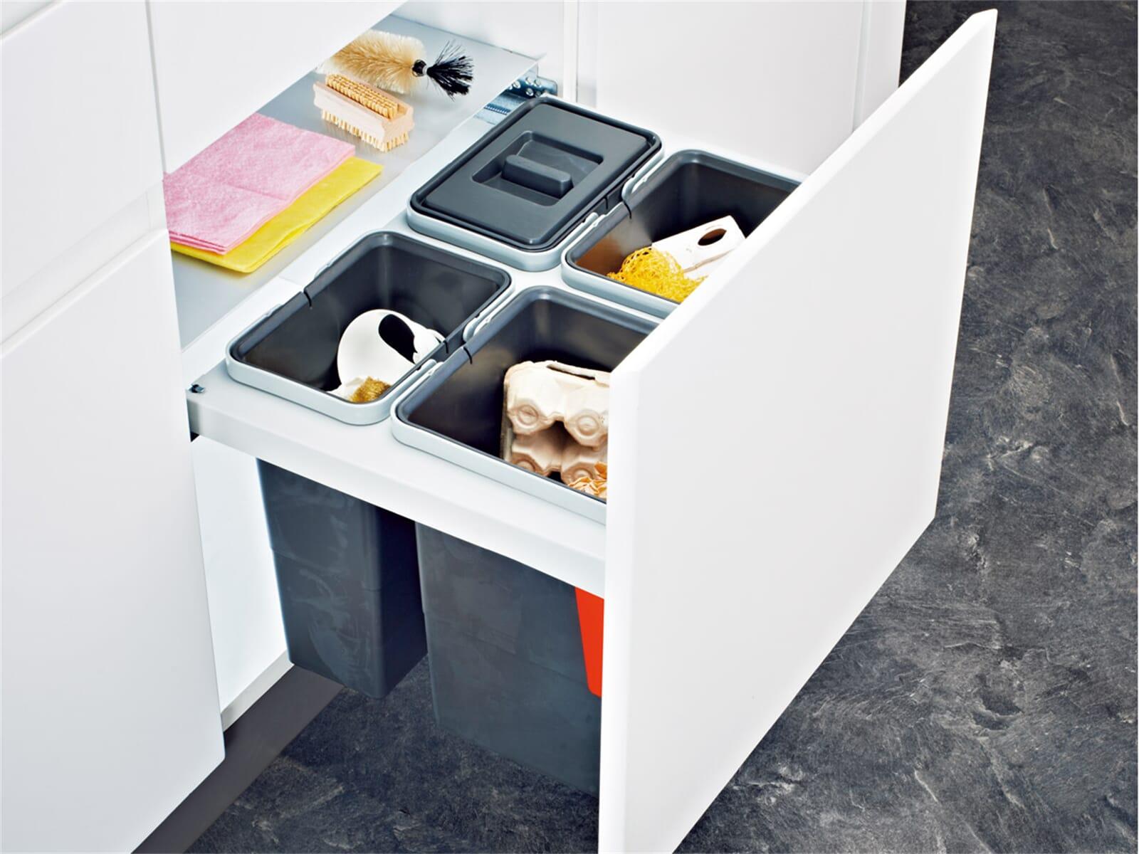 Franke Sorter Garbo 60-4 - 121.0200.676 Einbau Abfallsammler