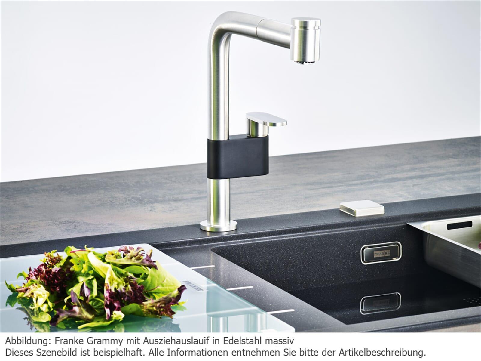 franke grammy chrom hochdruckarmatur. Black Bedroom Furniture Sets. Home Design Ideas