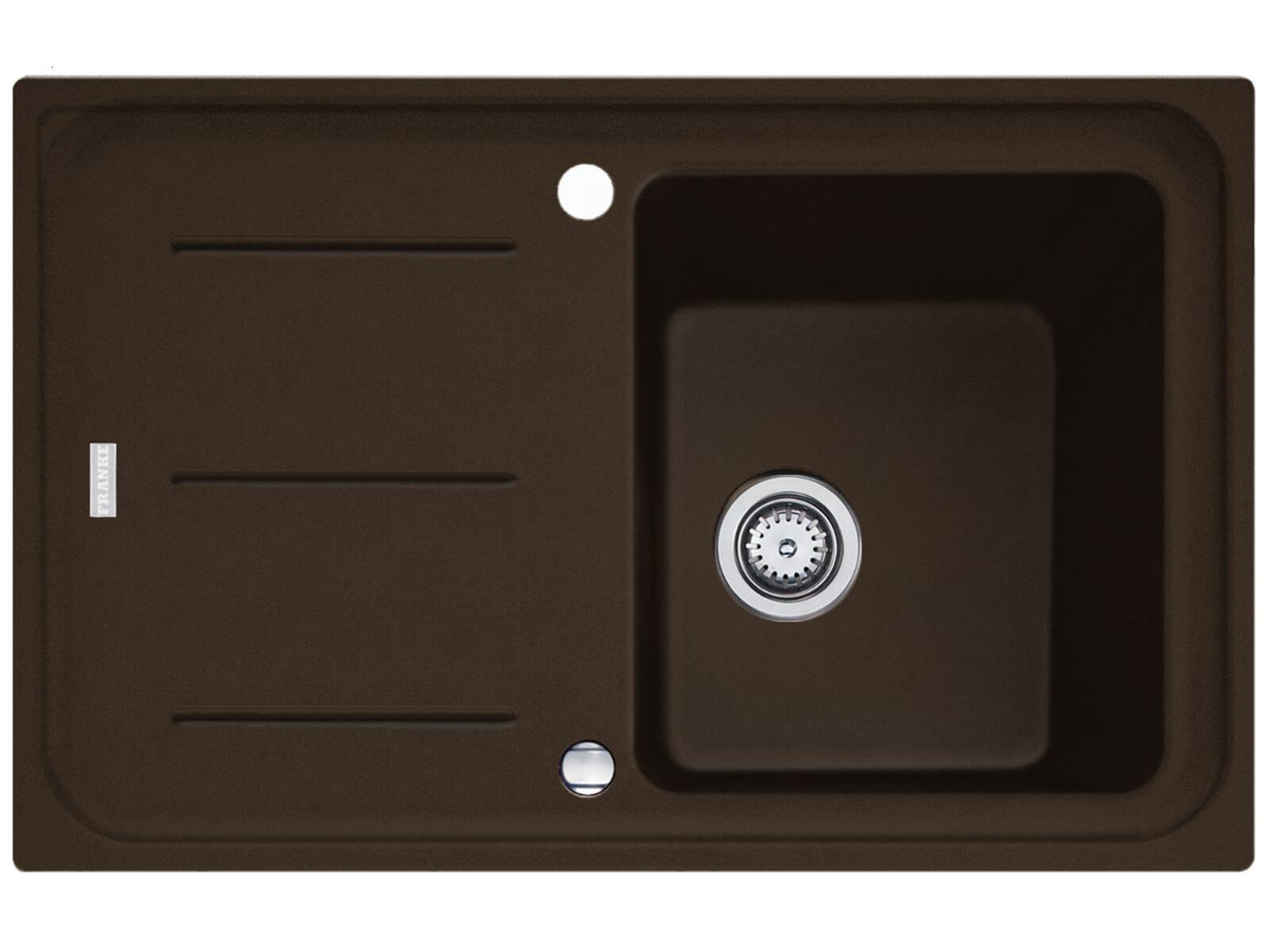 Franke Impact G IMG 611 G Chocolate Granitspüle