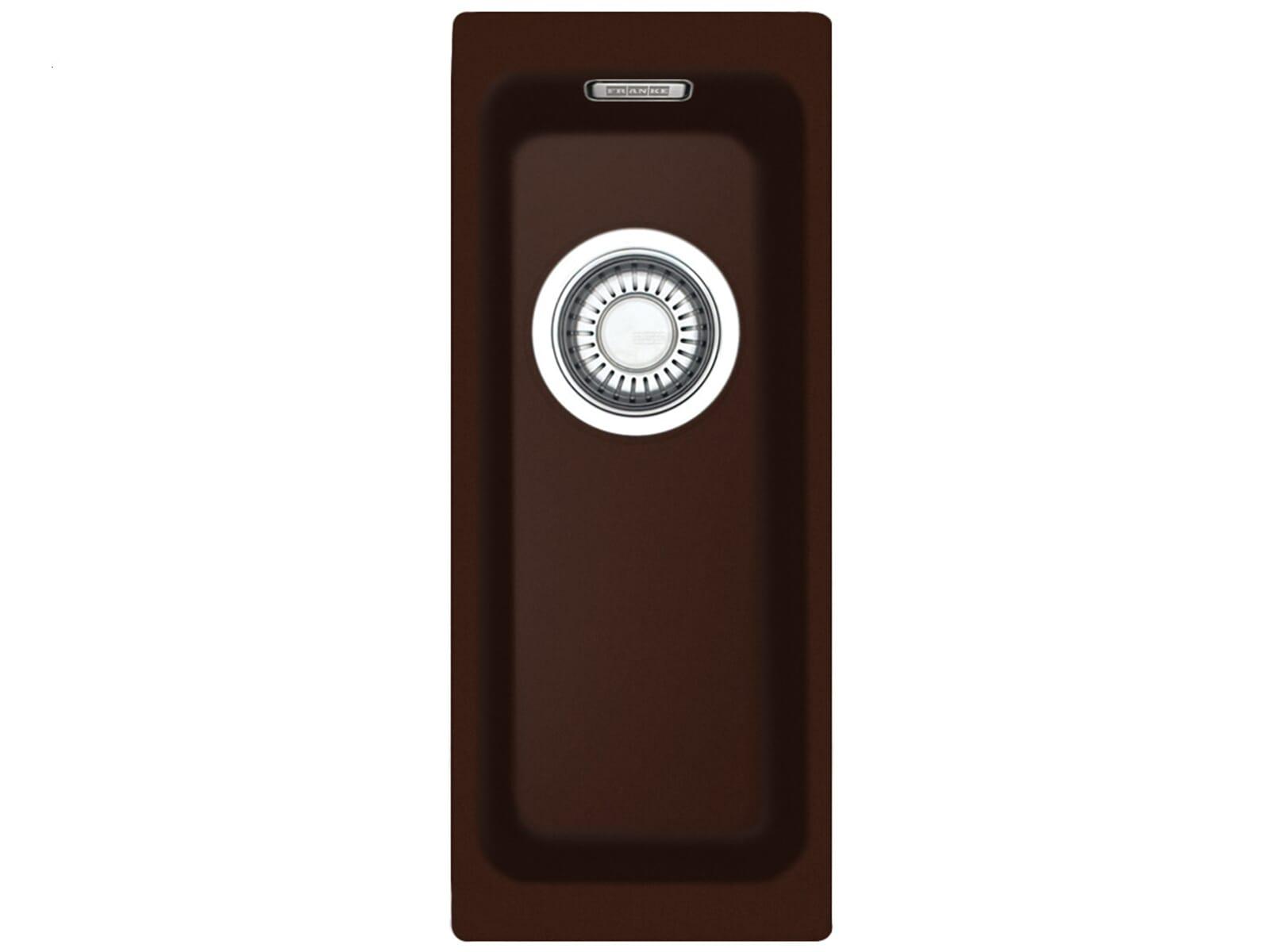 Franke Kubus KBG 110-16 Chocolate Granitspüle