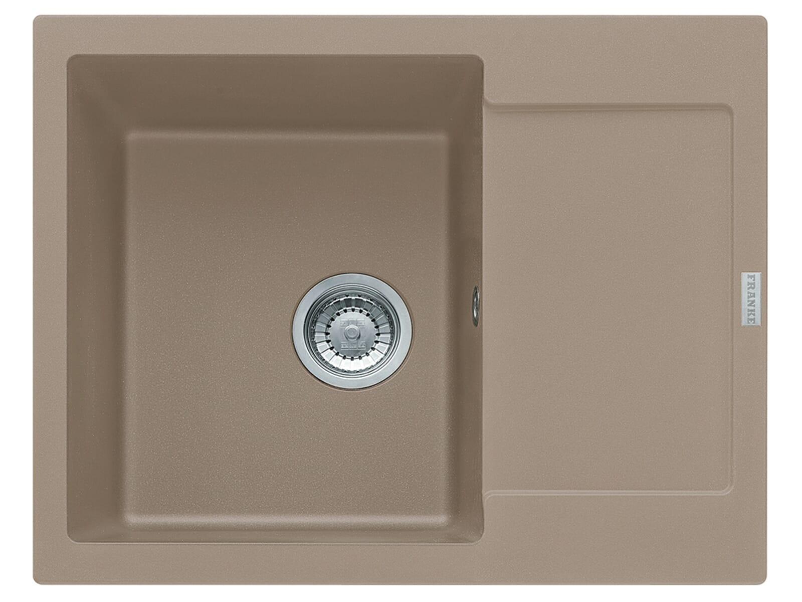 Franke Maris MRG 611-62 Cashmere - 114.0477.508 Granitspüle Exzenterbetätigung