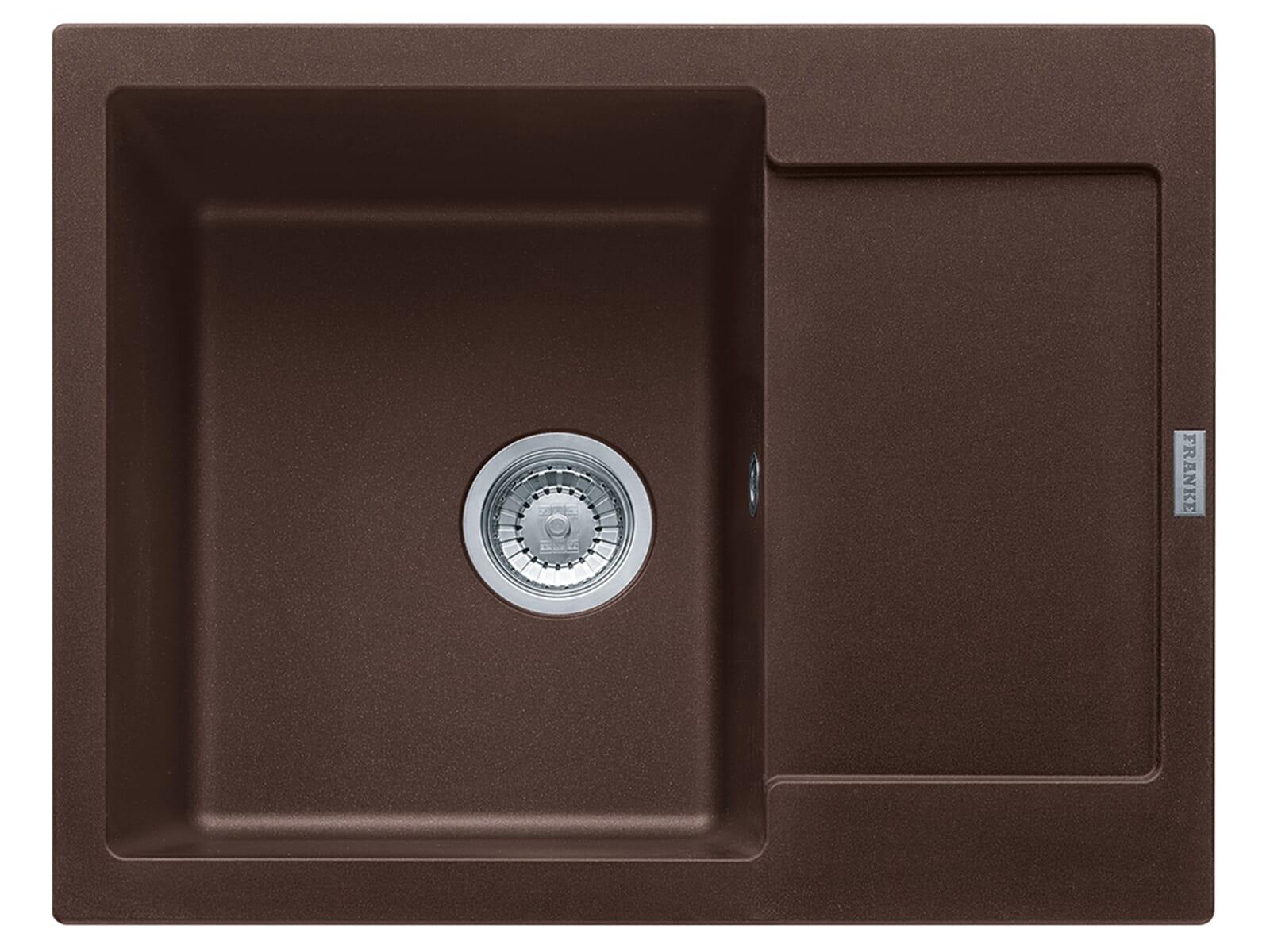 Franke Maris MRG 611-62 Chocolate - 114.0477.560 Granitspüle Exzenterbetätigung