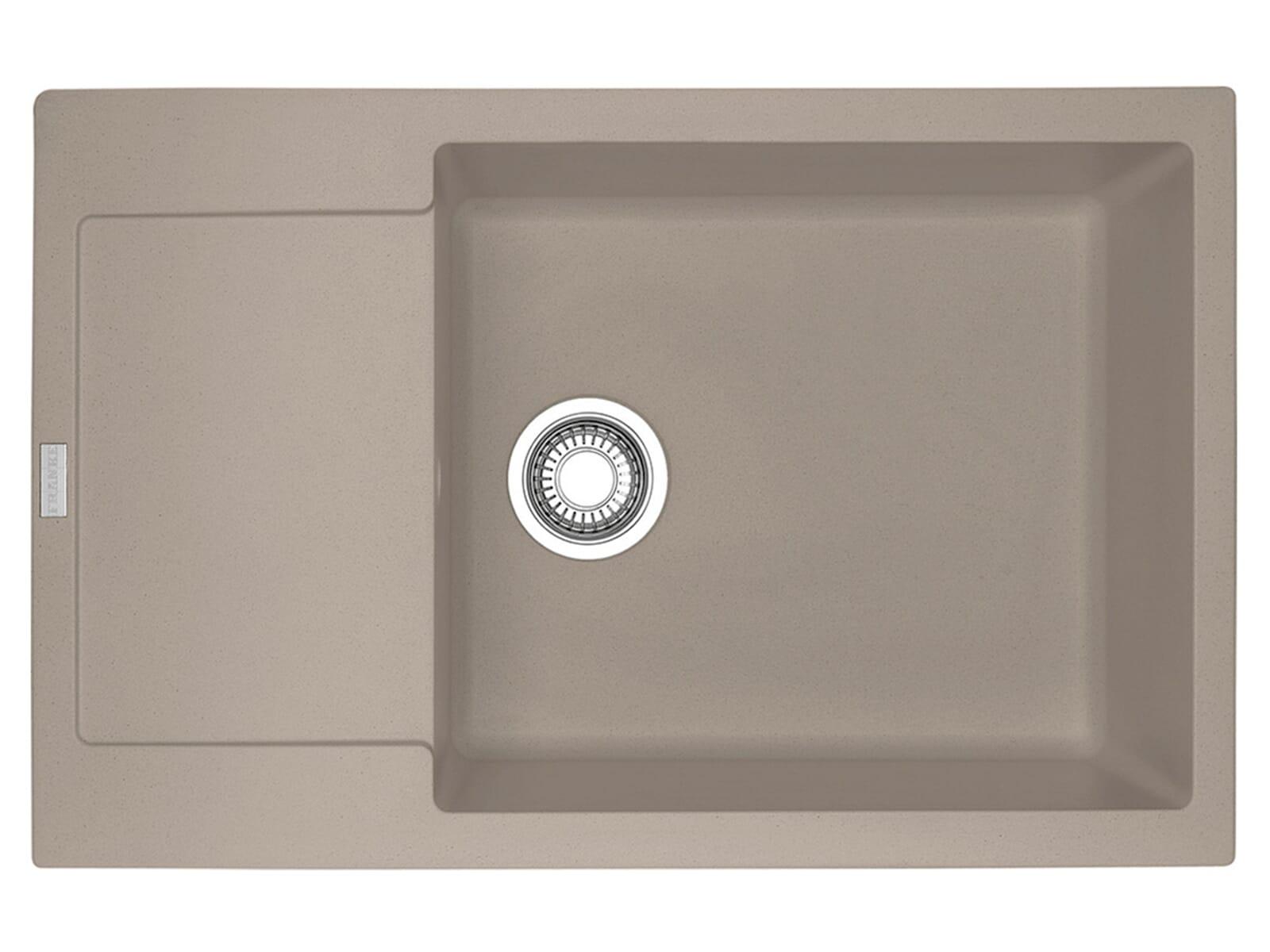 franke maris mrg 611 78 xl cashmere granitsp le drehknopfventil. Black Bedroom Furniture Sets. Home Design Ideas