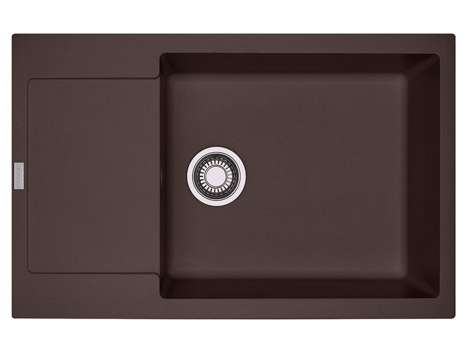 franke maris mrg 611 78 xl chocolate granitsp le drehknopfventil. Black Bedroom Furniture Sets. Home Design Ideas