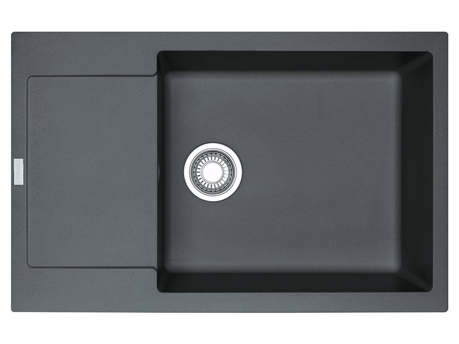 franke maris mrg 611 78 xl graphit granitsp le drehknopfventil. Black Bedroom Furniture Sets. Home Design Ideas