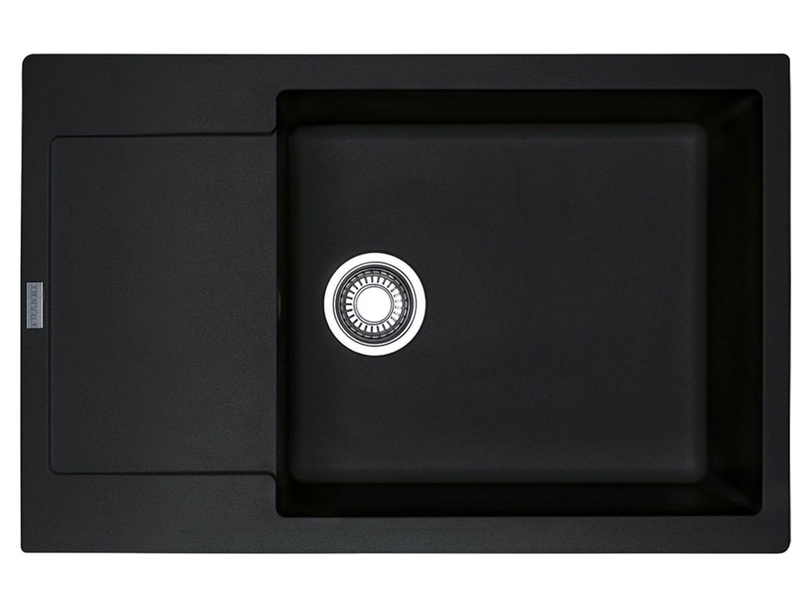 franke maris mrg 611 78 xl onyx granitsp le drehknopfventil. Black Bedroom Furniture Sets. Home Design Ideas