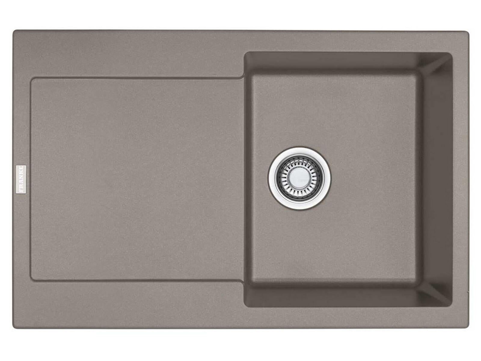 franke maris mrg 611 cashmere granitsp le druckknopfventil. Black Bedroom Furniture Sets. Home Design Ideas