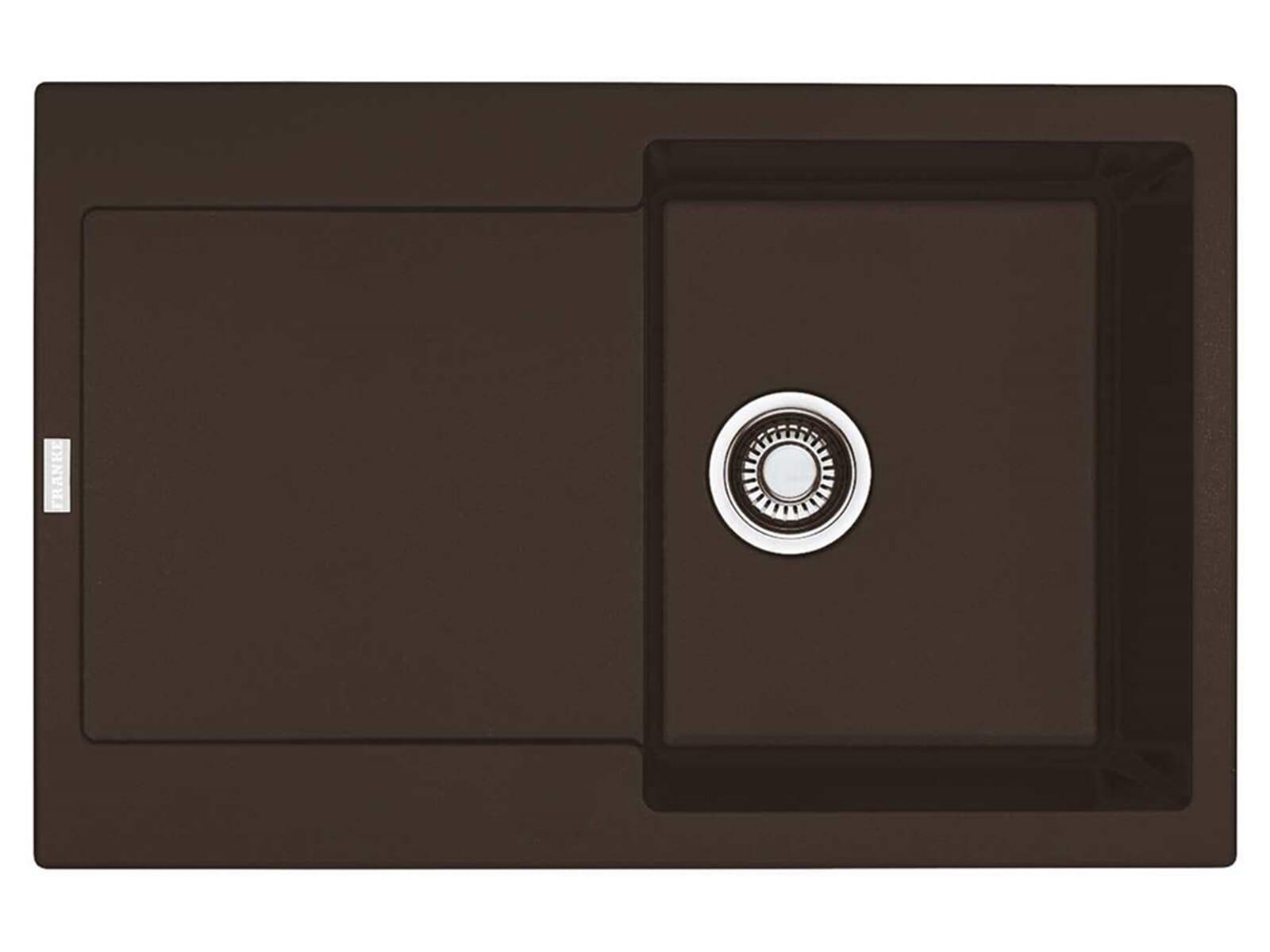 franke maris mrg 611 chocolate granitsp le druckknopfventil. Black Bedroom Furniture Sets. Home Design Ideas