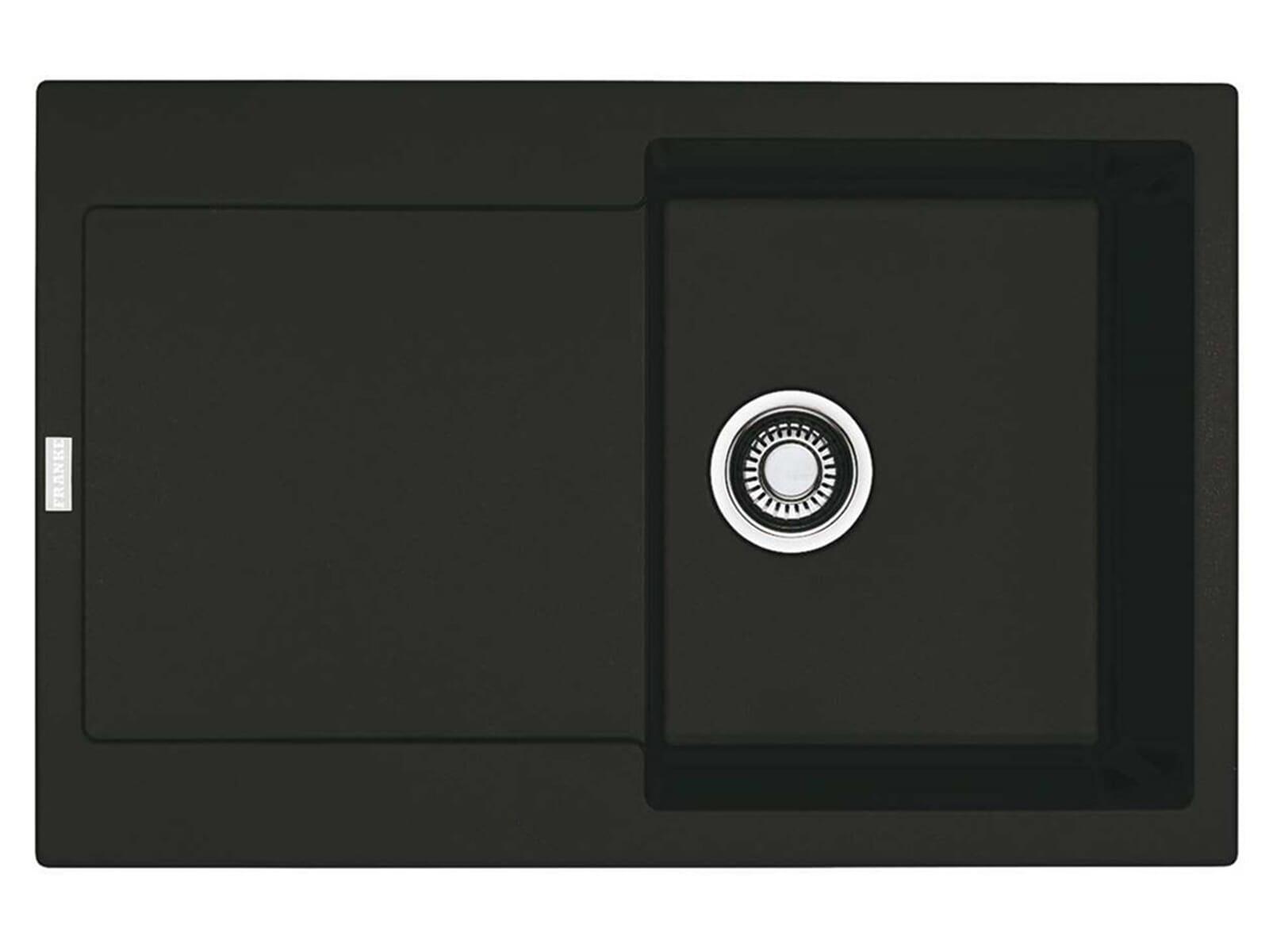 franke maris mrg 611 onyx granitsp le druckknopfventil. Black Bedroom Furniture Sets. Home Design Ideas
