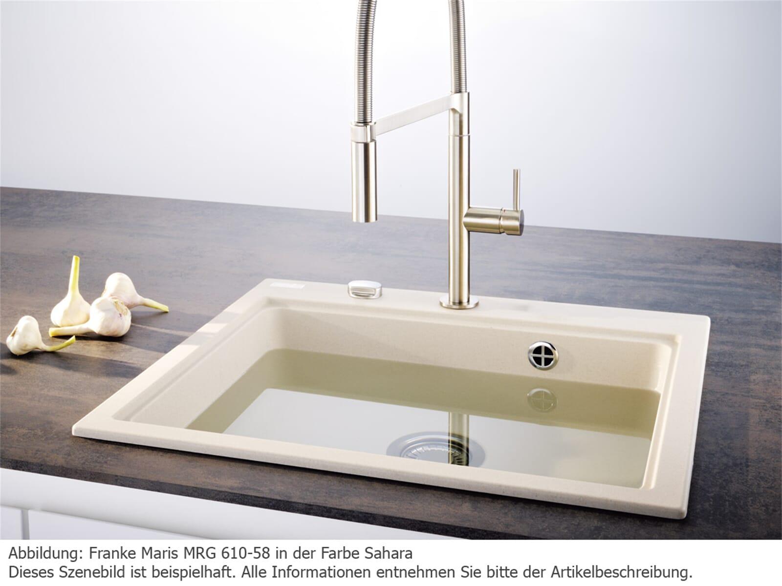 Franke Maris MRG 610-58 Steingrau Granitspüle