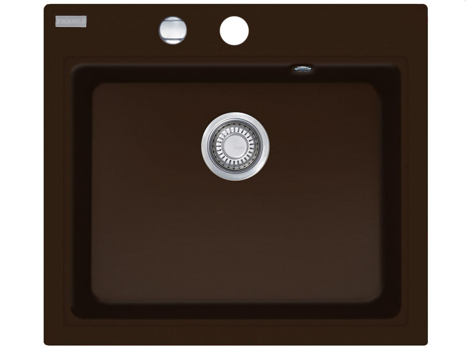 Franke Maris MRG 610-58 Chocolate Granitspüle