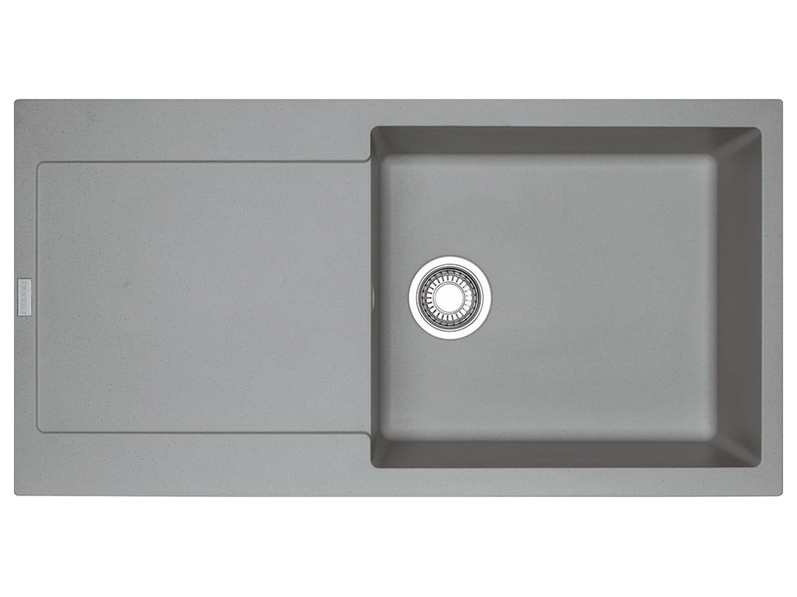 Franke Maris MRG 611-100 XL Steingrau - 114.0477.372 Granitspüle Exzenterbetätigung