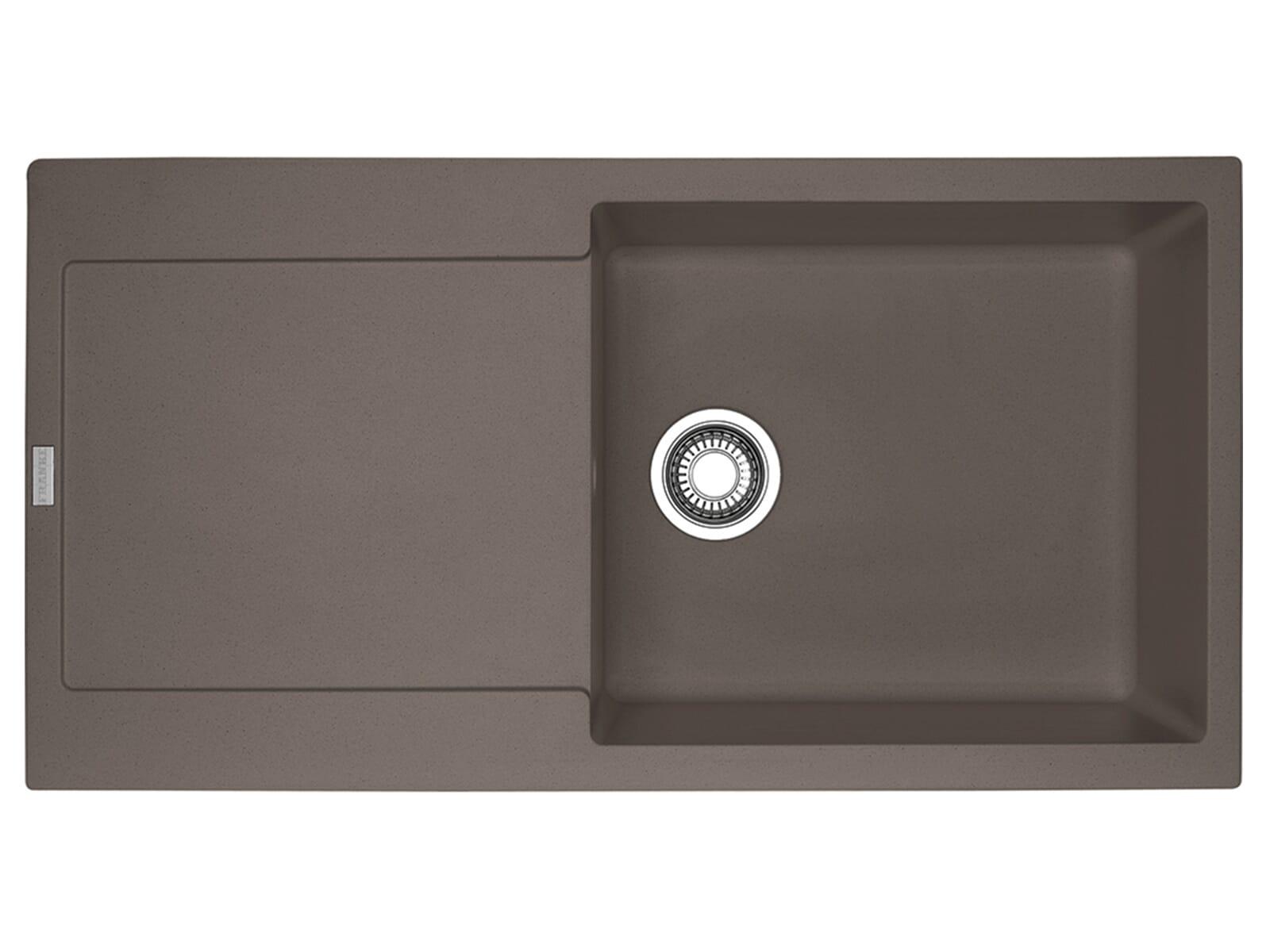 Franke Maris MRG 611-100 XL Umbra - 114.0477.378 Granitspüle Exzenterbetätigung