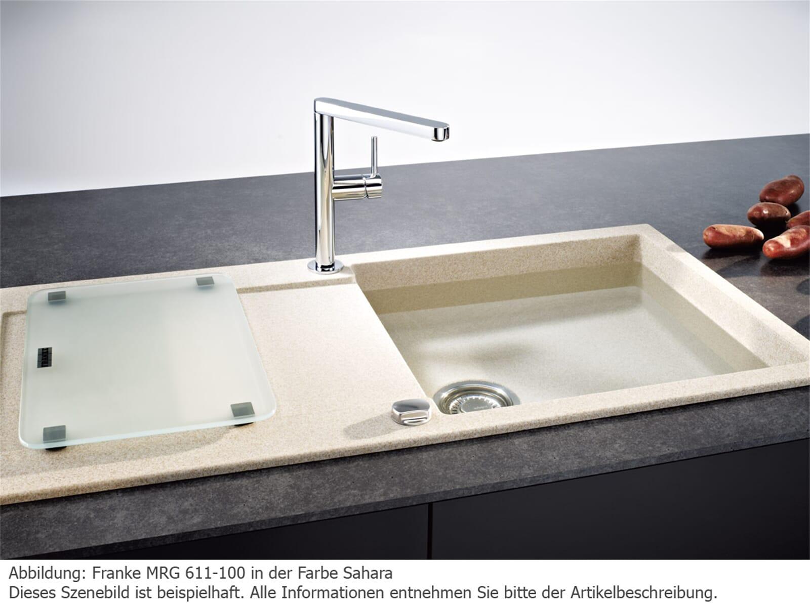 Franke Maris MRG 611-100 Umbra Granitspüle