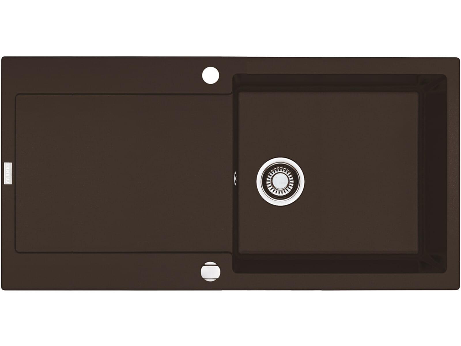 Franke Maris MRG 611-100 Chocolate Granitspüle