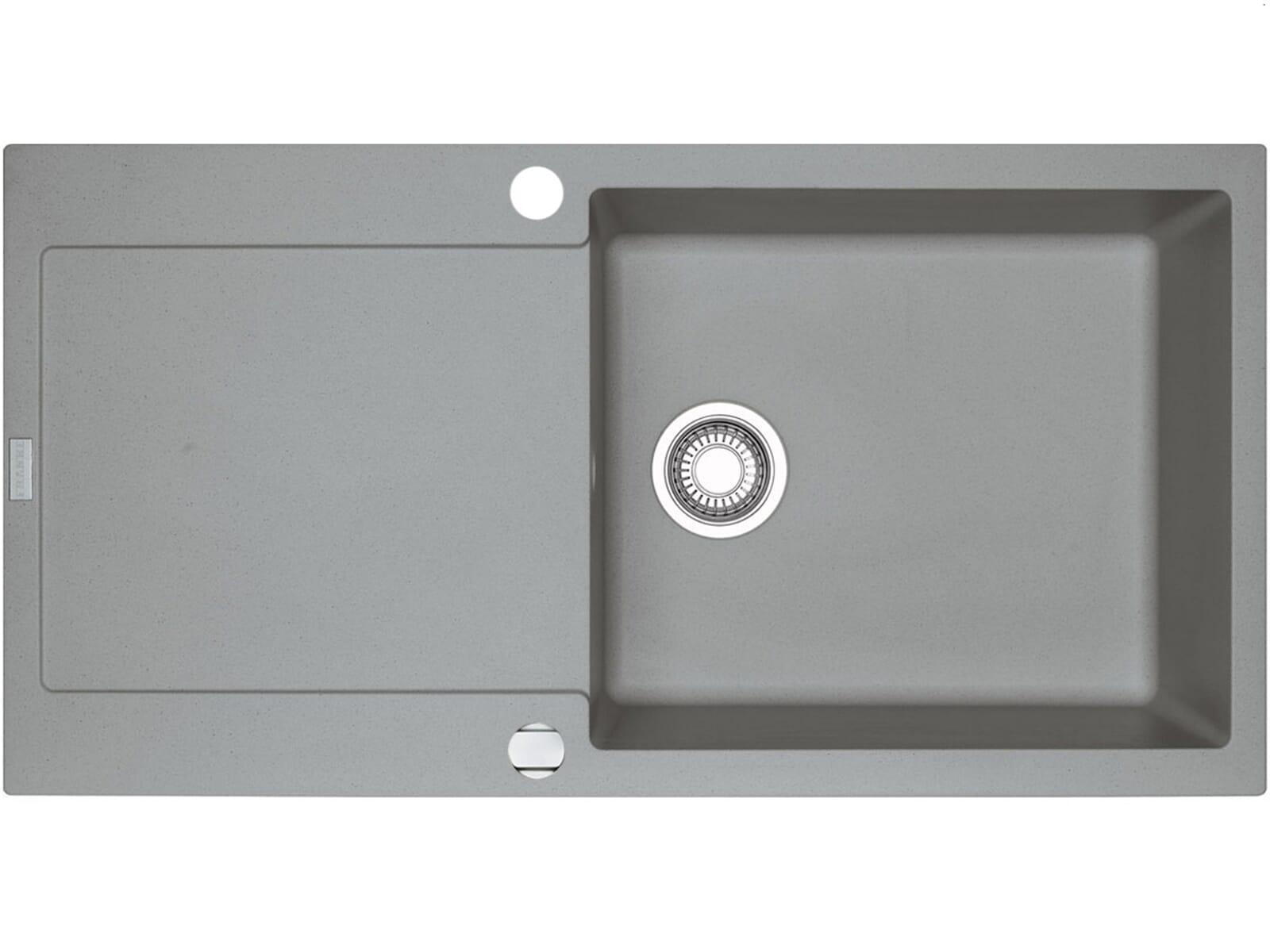 franke maris mrg 611 100 xl steingrau granitsp le. Black Bedroom Furniture Sets. Home Design Ideas