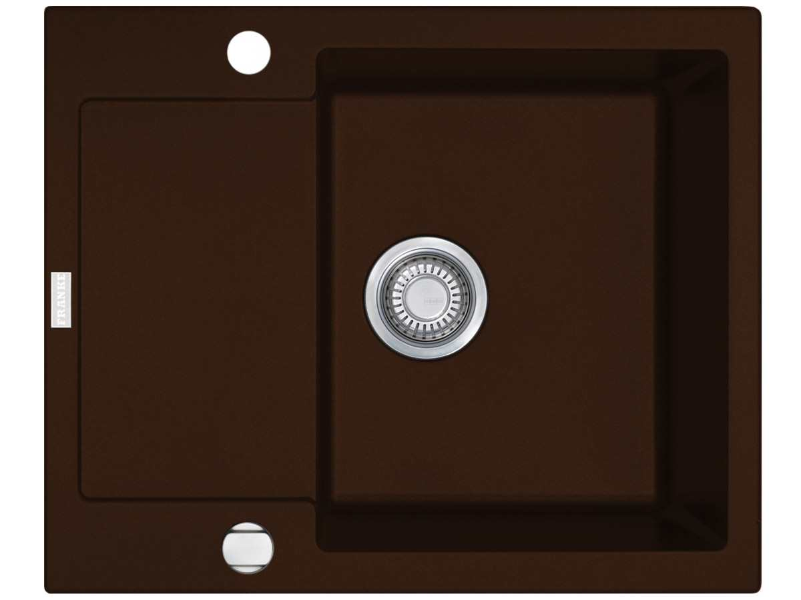 franke maris mrg 611 62 chocolate granitsp le. Black Bedroom Furniture Sets. Home Design Ideas
