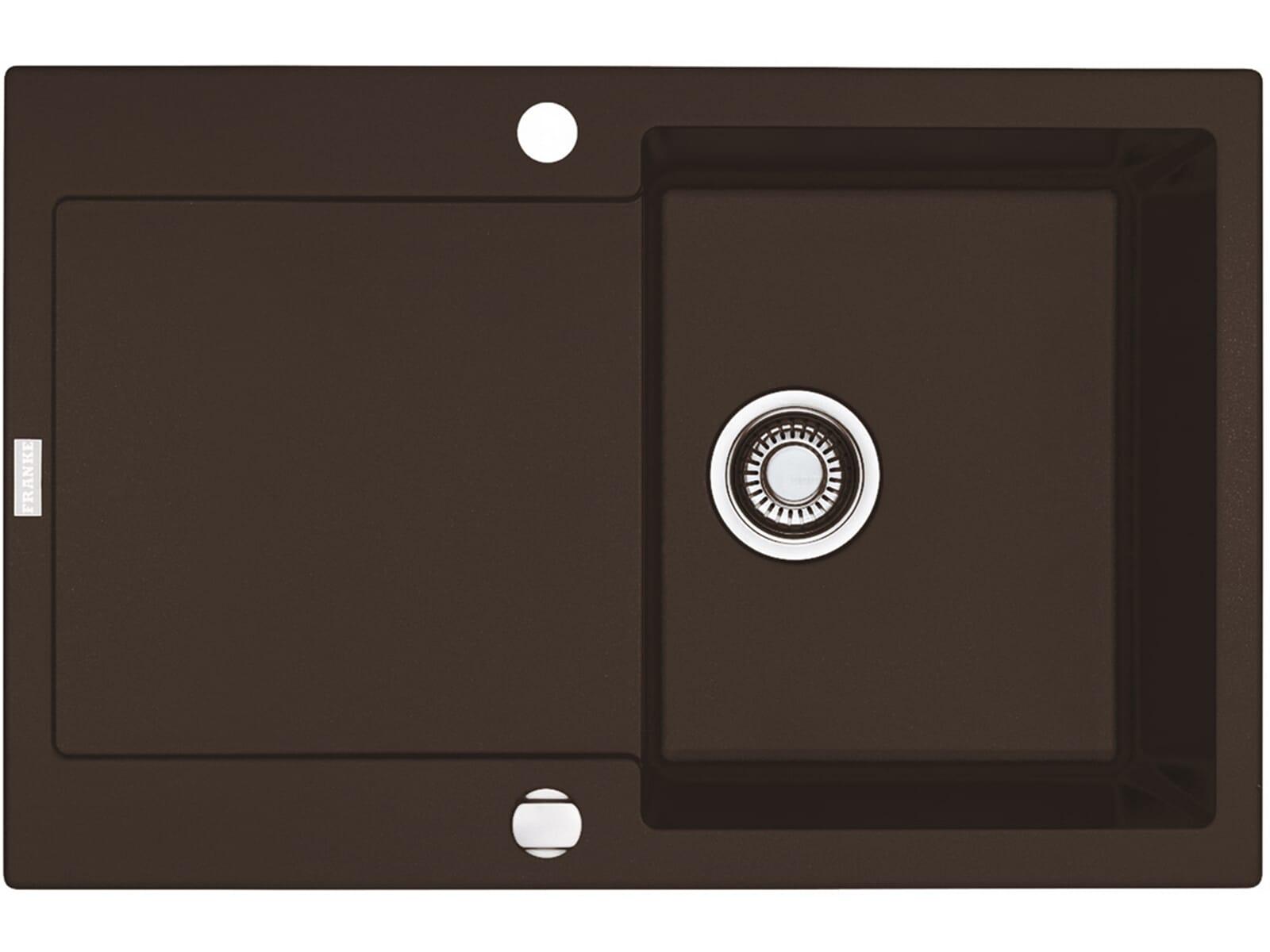 Franke Maris MRG 611 Chocolate Granitspüle