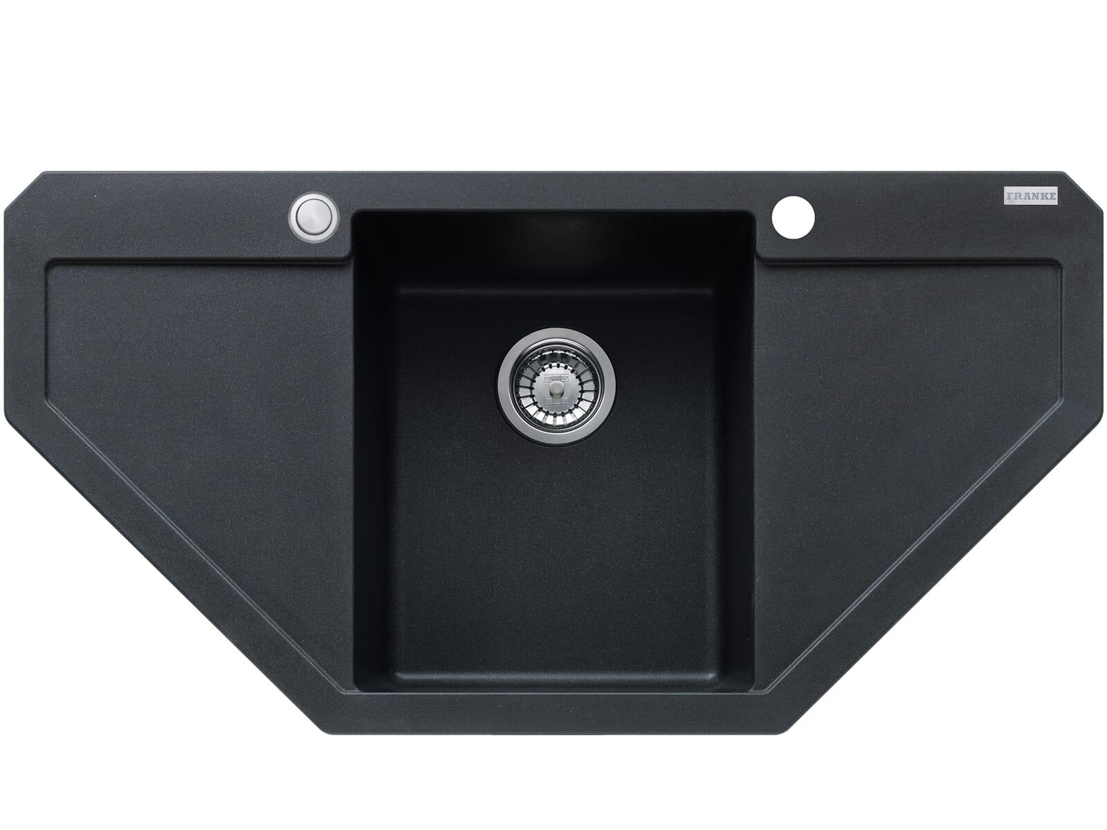 Franke Maris MRG 612-E Onyx - 114.0477.540 Granitspüle Exzenterbetätigung