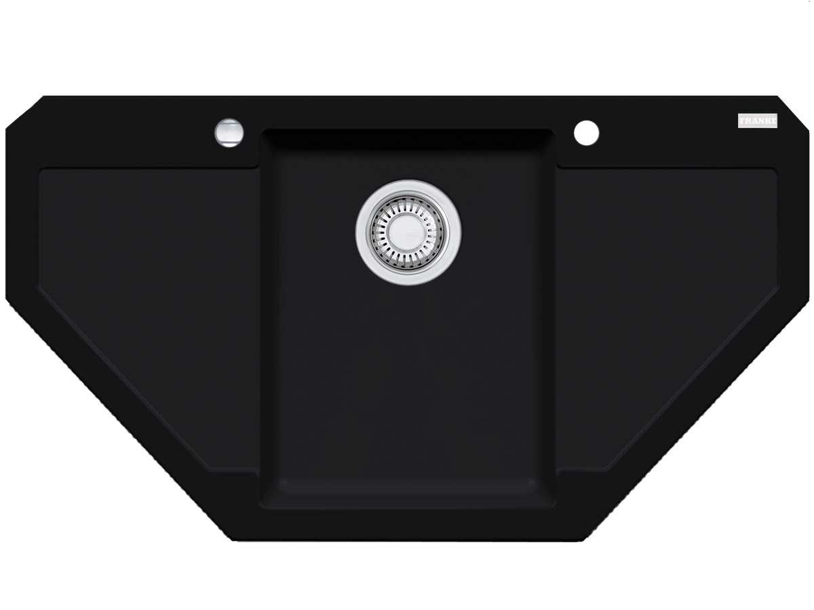 Franke Maris MRG 612-E Onyx Granitspüle