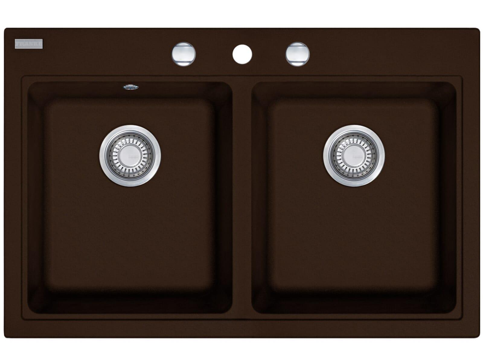Franke Maris MRG 620 Chocolate Granitspüle