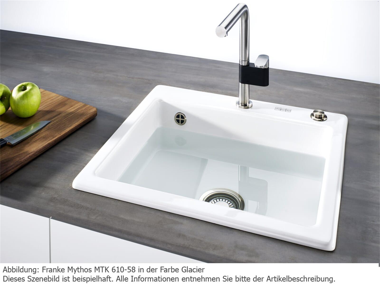 Franke Mythos MTK 610-58 Cashmere Keramikspüle