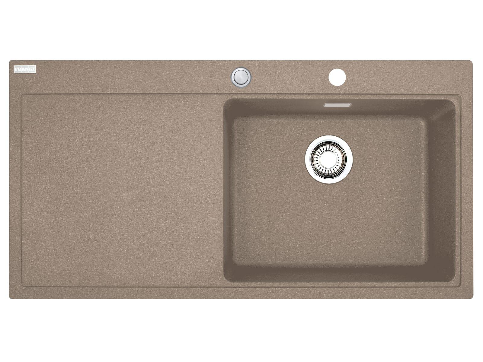 Franke Mythos MTG 611 Cashmere - 10854 Granitspüle Exzenterbetätigung