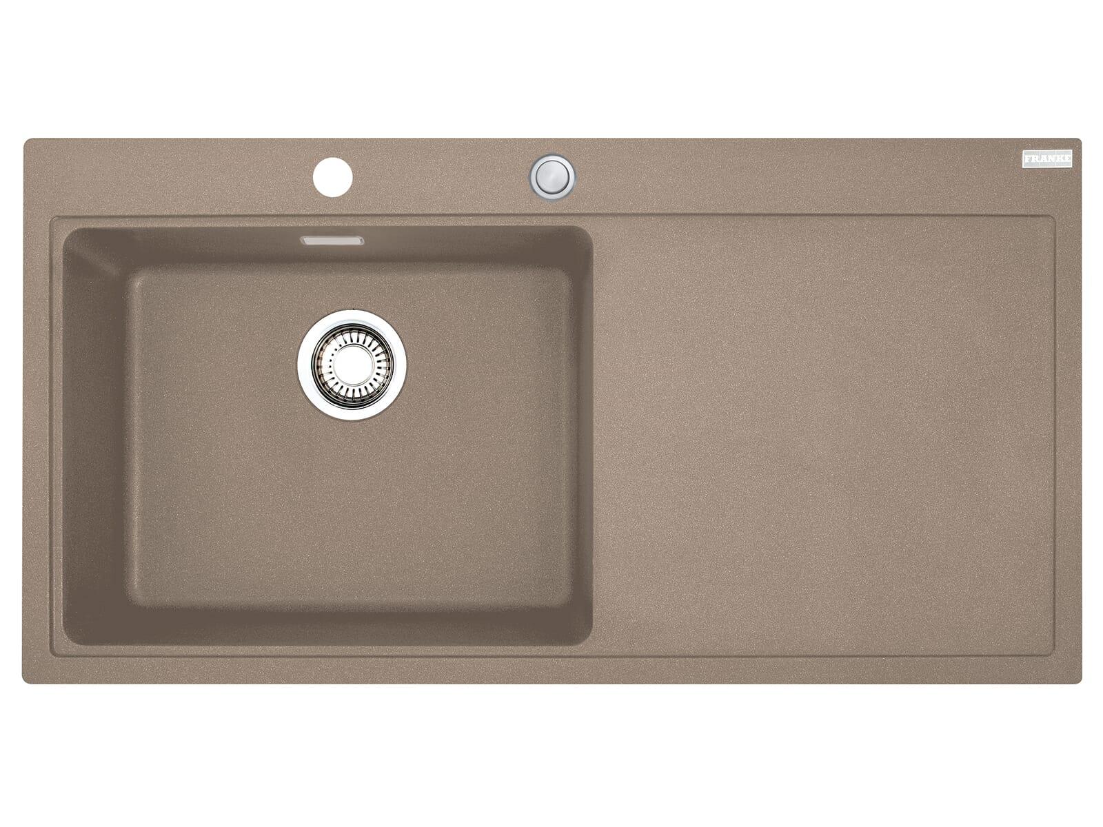 Franke Mythos MTG 611 Cashmere - 10863 Granitspüle Exzenterbetätigung