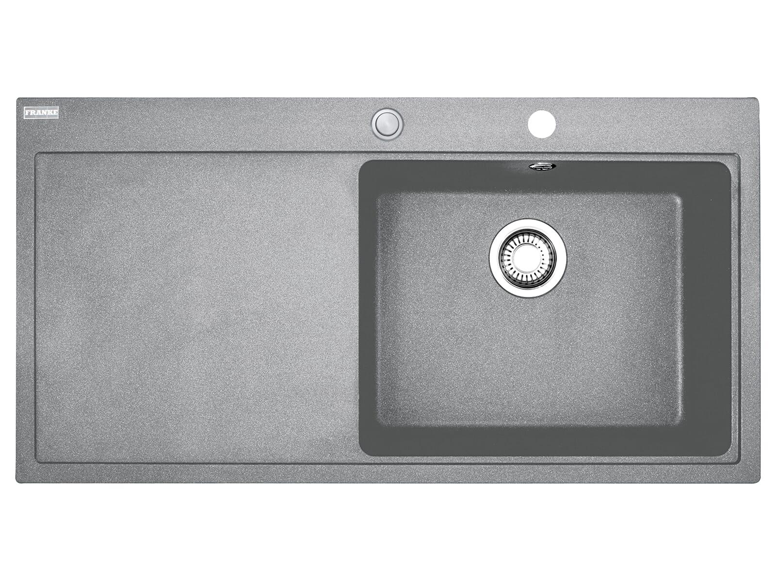 Franke Mythos MTG 611 Steingrau - 10869 Granitspüle Exzenterbetätigung