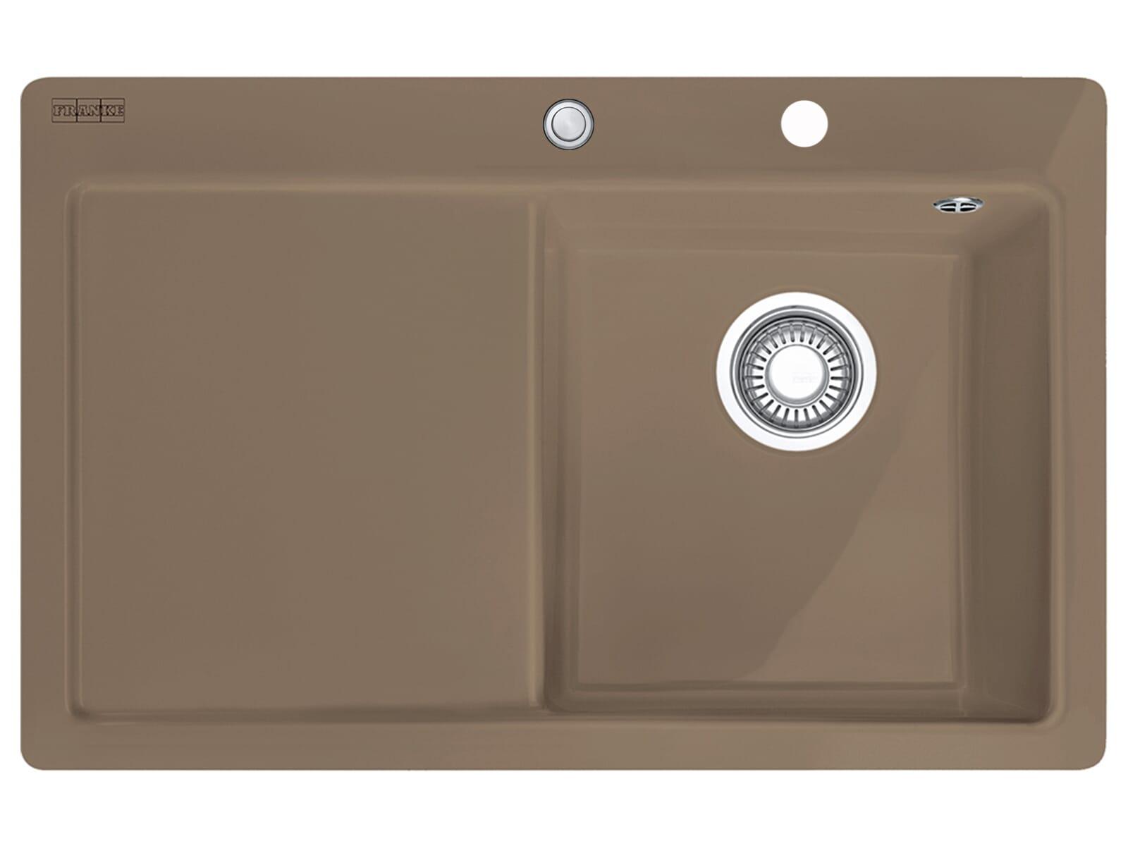 Franke Mythos MTK 211-78 Cashmere - 10653 Keramikspüle Exzenterbetätigung