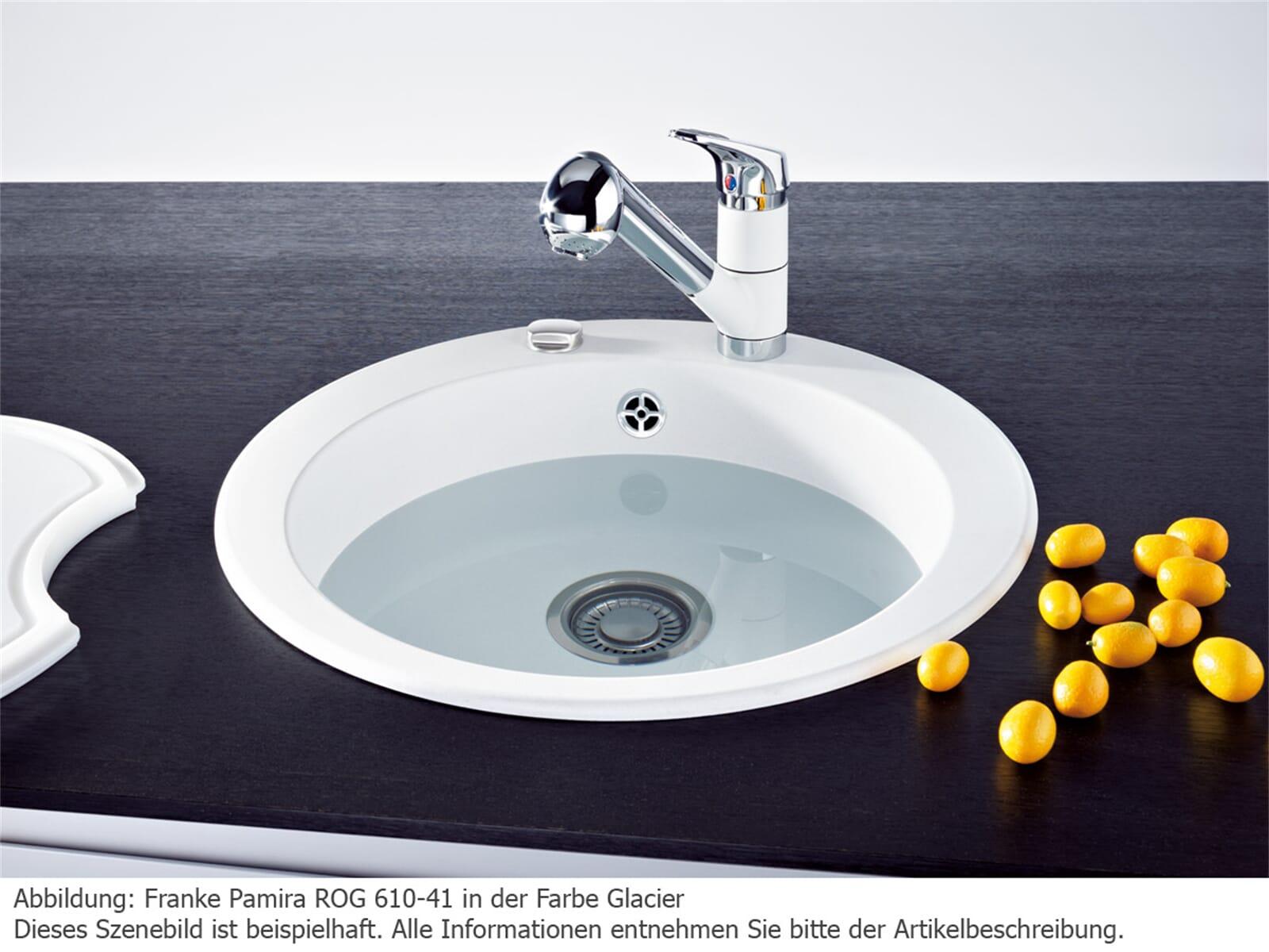 Franke Pamira ROG 610-41 Onyx Granitspüle
