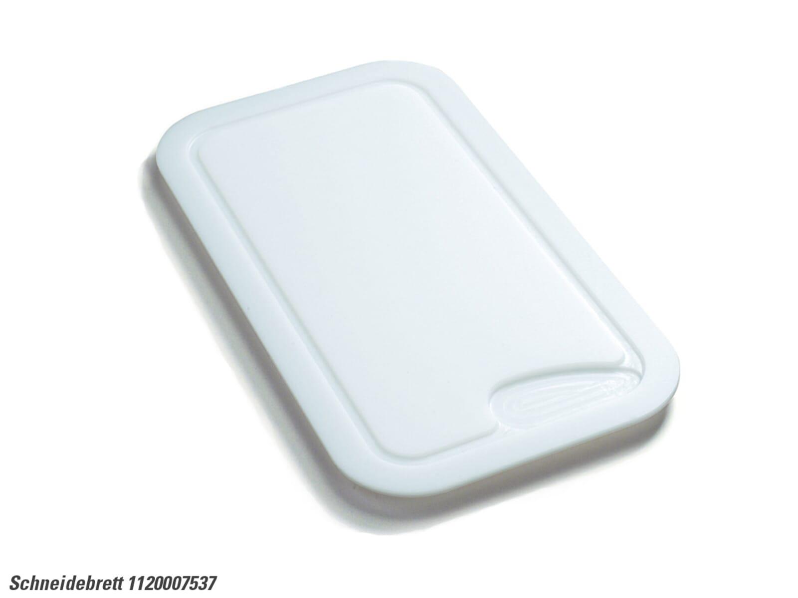 Franke 112.0007.537 Kunststoffschniedebrett weiß