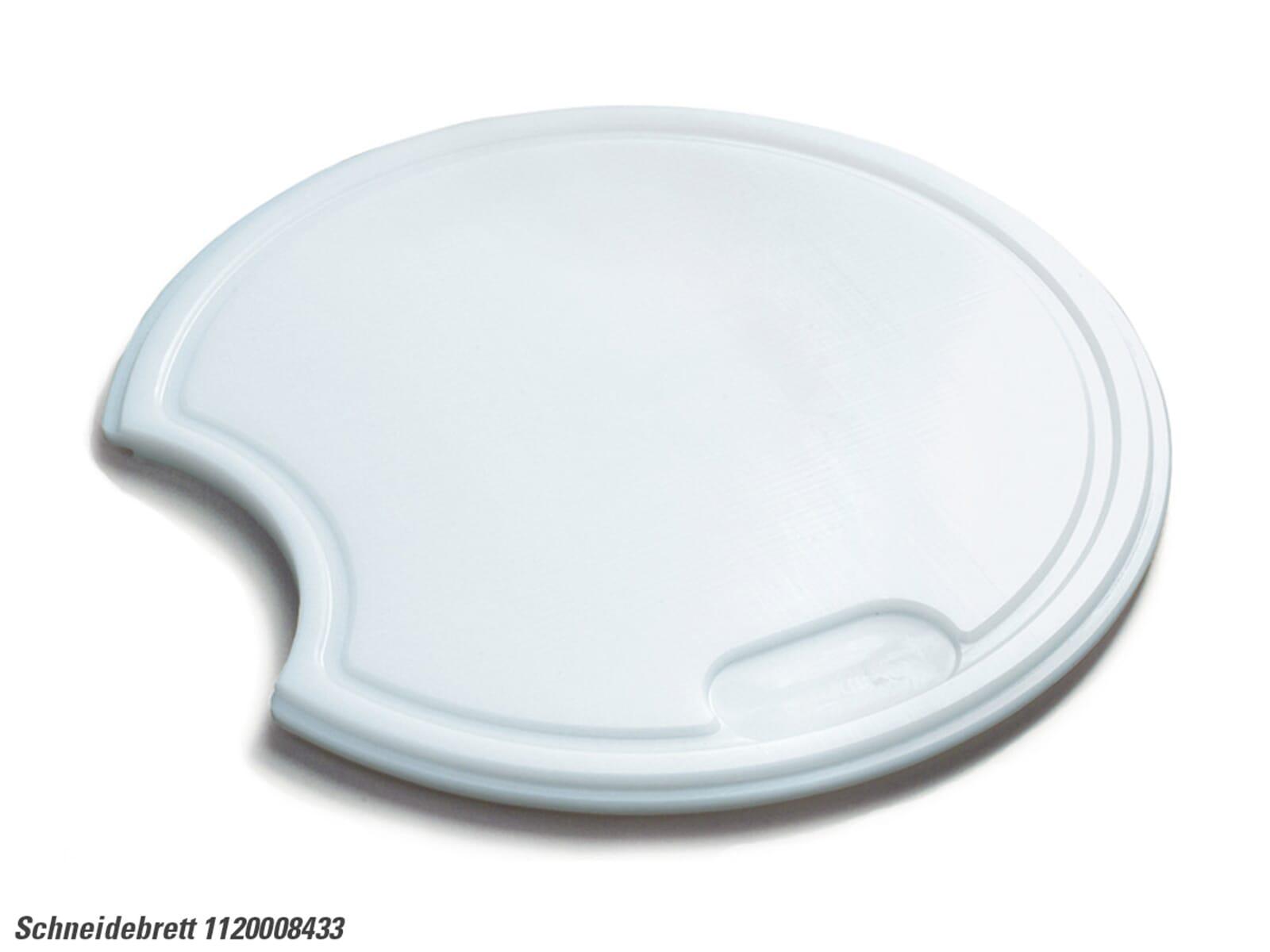 Franke 112.0008.433 Kunststoffschneidebrett weiß