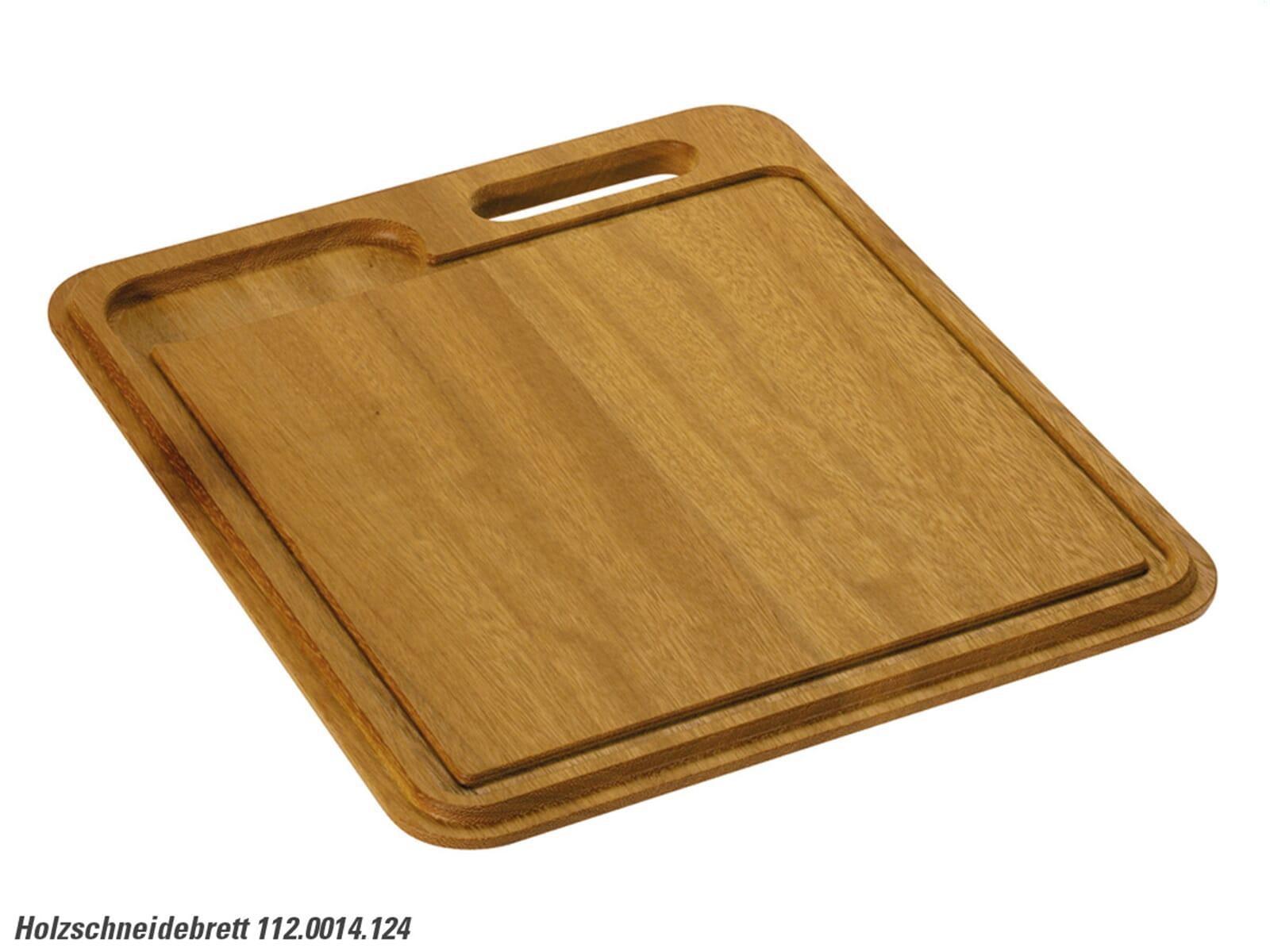Produktabbildung Franke 112.0014.124 Holzschneidebrett Iroko