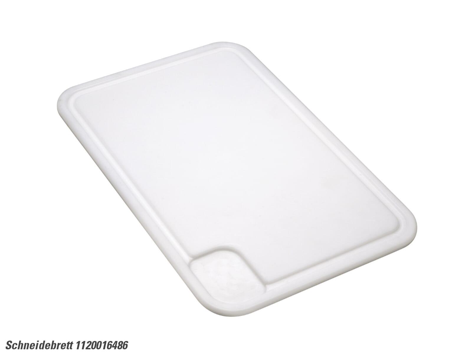 Franke 112.0016.486 Kunststoffschneidebrett weiß