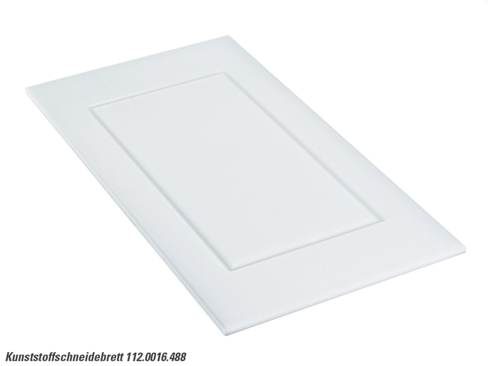Bild Franke 112.0016.488 Kunststoffschneidebrett weiß