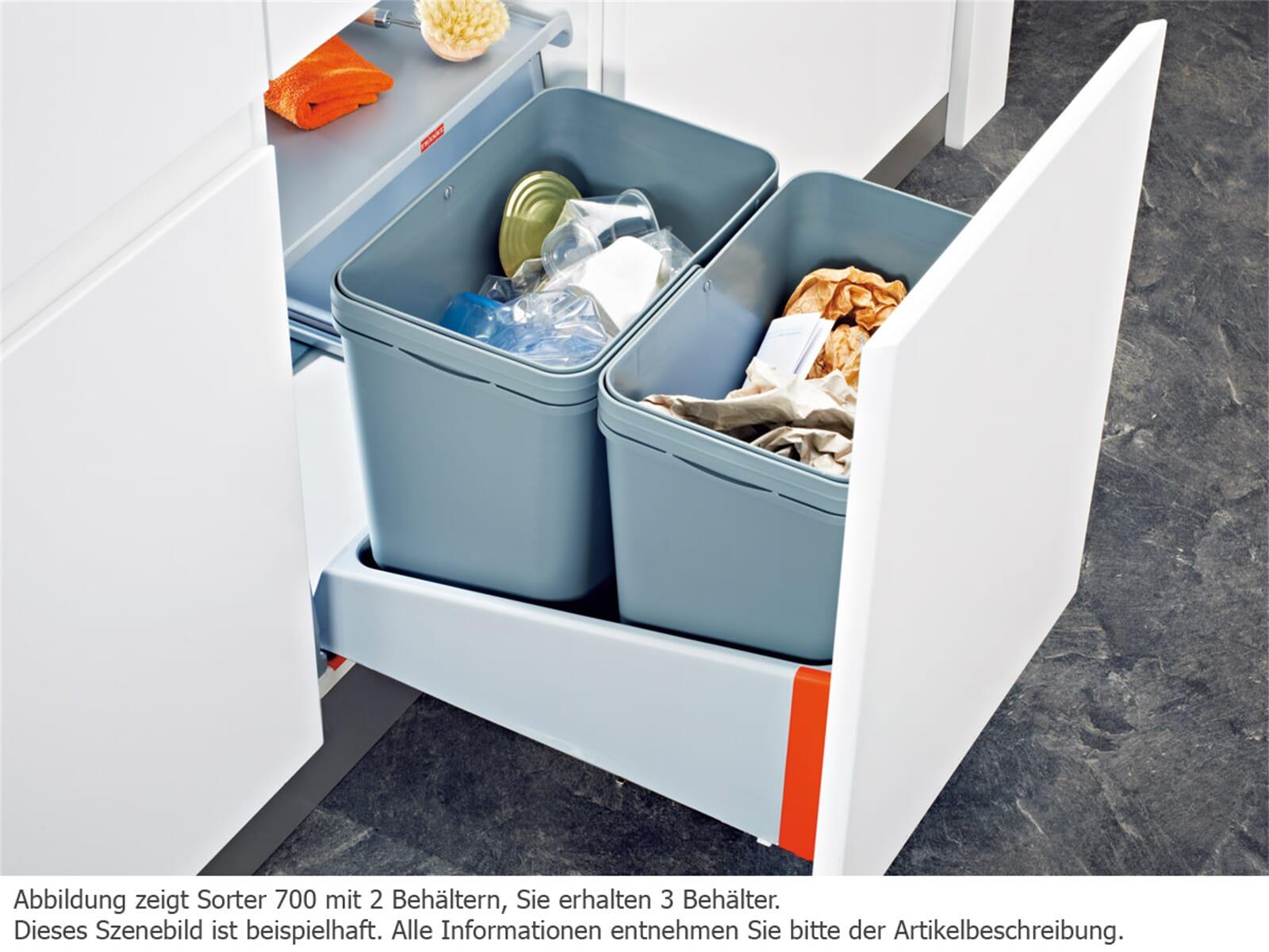 Franke Sorter 700-45 Motion - 121.0173.361 Einbau Abfallsammler