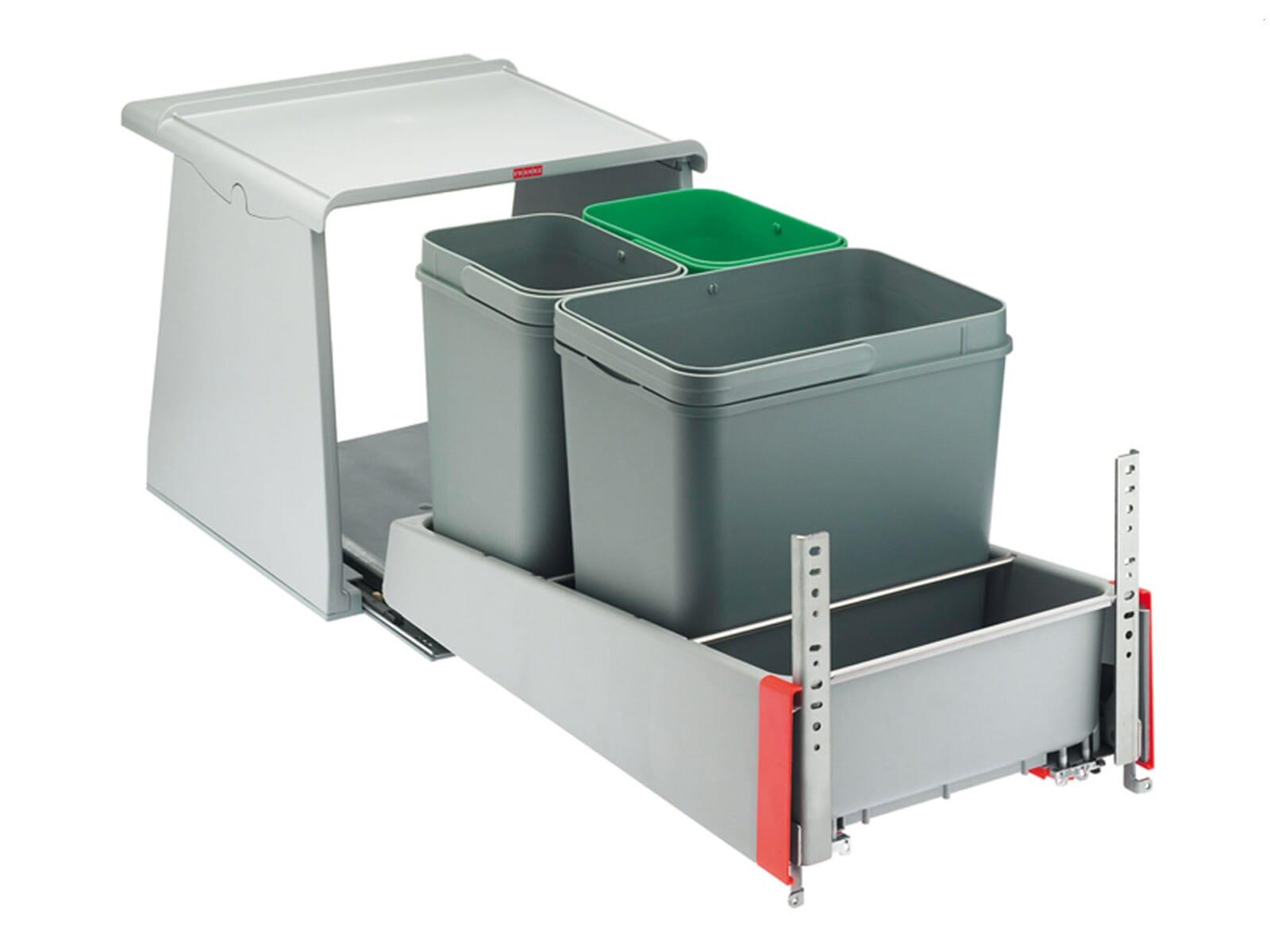 Produktabbildung Franke Sorter 700 Eck KickMatic - 121.0014.912 Einbau Abfallsammler