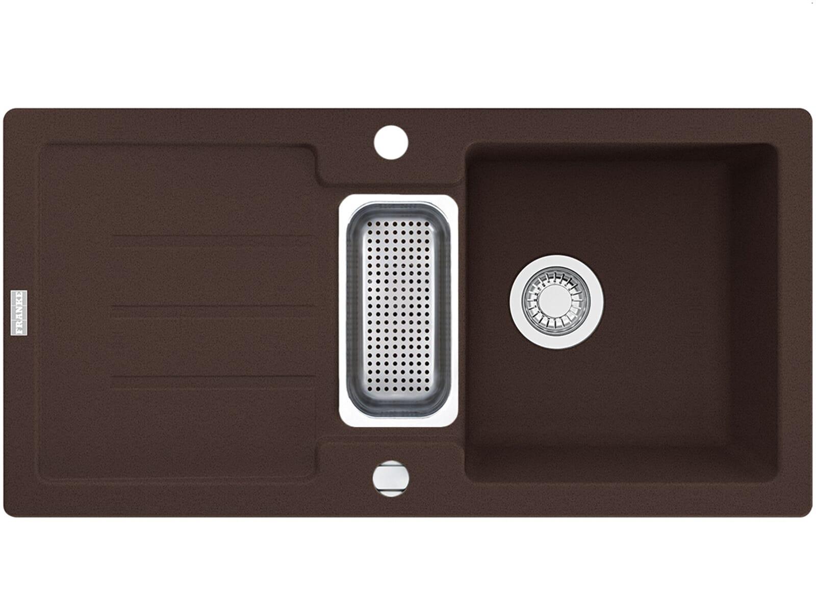 Franke Strata STG 651-86 Chocolate Granitspüle