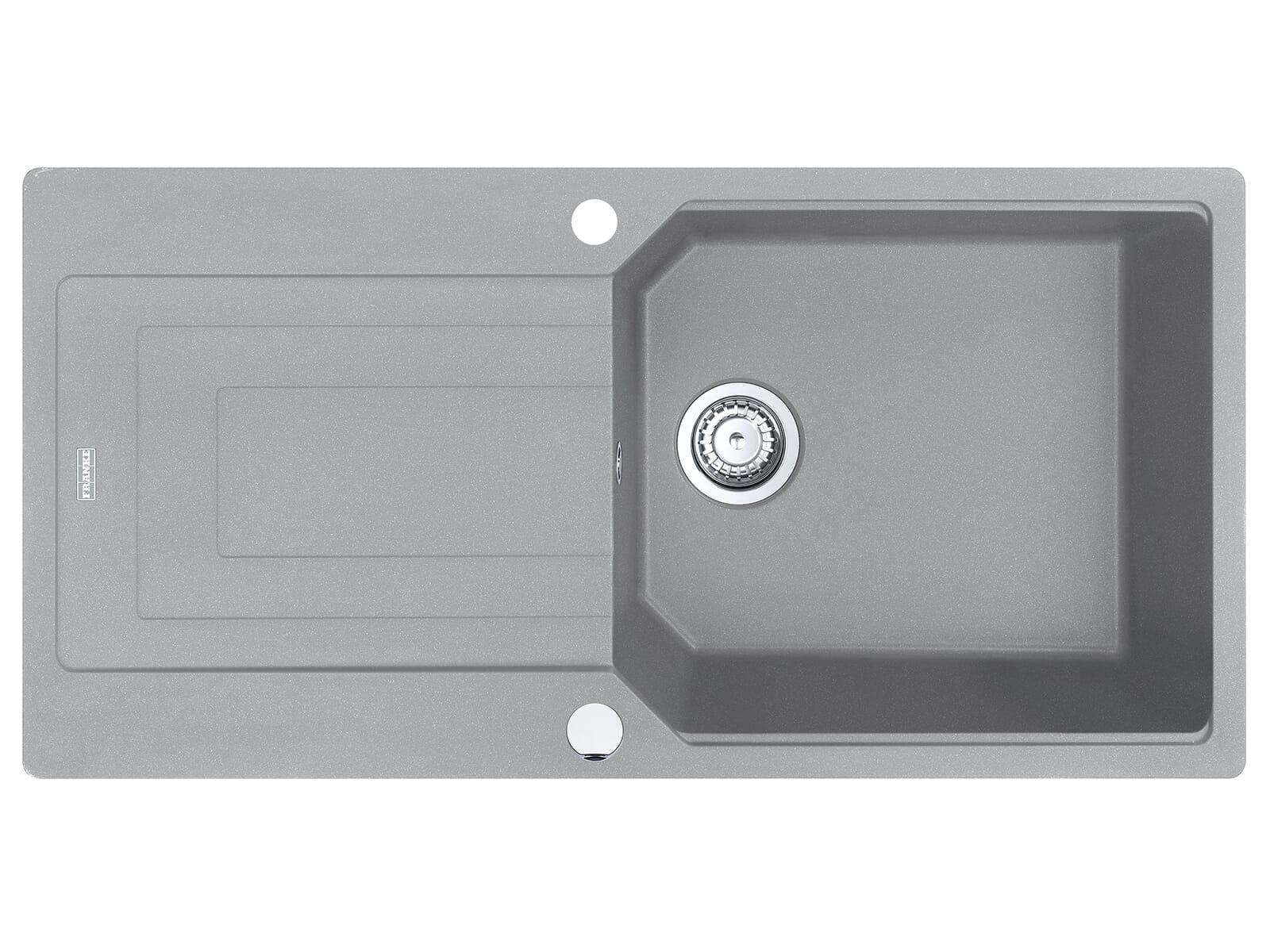 Franke Urban UBG 611-100 Steingrau - 11943 Granitspüle Exzenterbetätigung