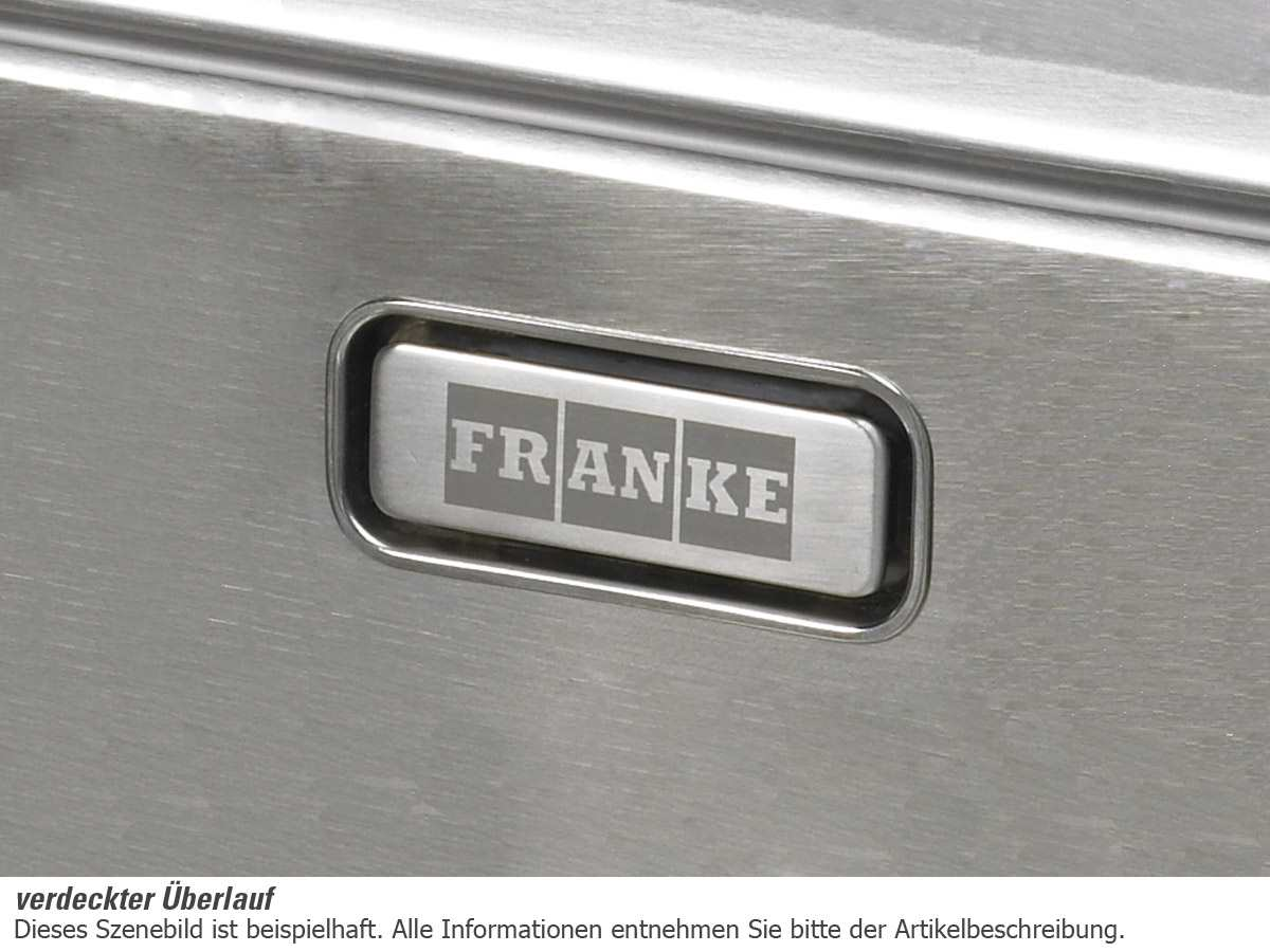 Franke Box BXX 210/110-54 Edelstahlspüle glatt - 127.0375.278 Auflage flächenbündig Unterbau
