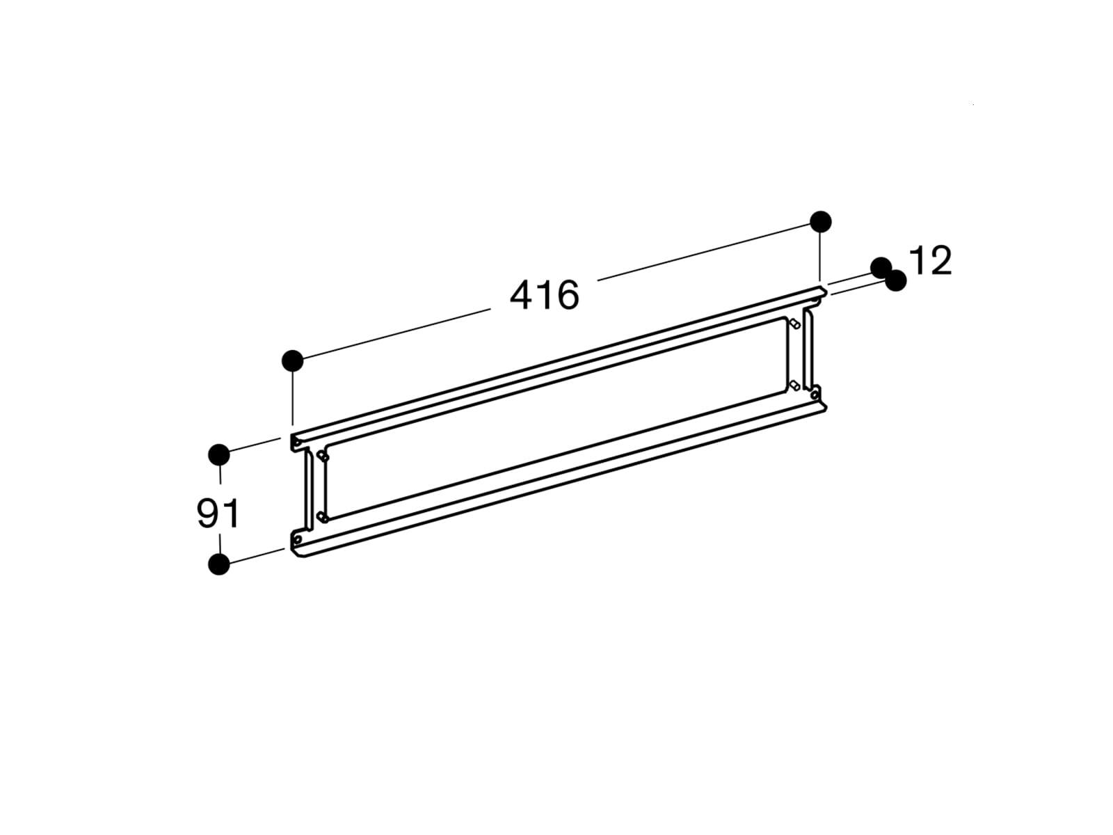 Gaggenau AD724041 Rundrohranschluss-Zusatzadapter