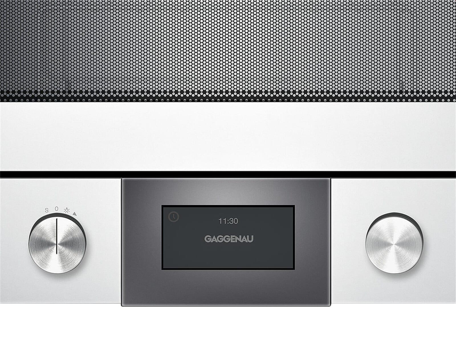 gaggenau bmp 225 130 einbau mikrowelle serie 200 silber. Black Bedroom Furniture Sets. Home Design Ideas