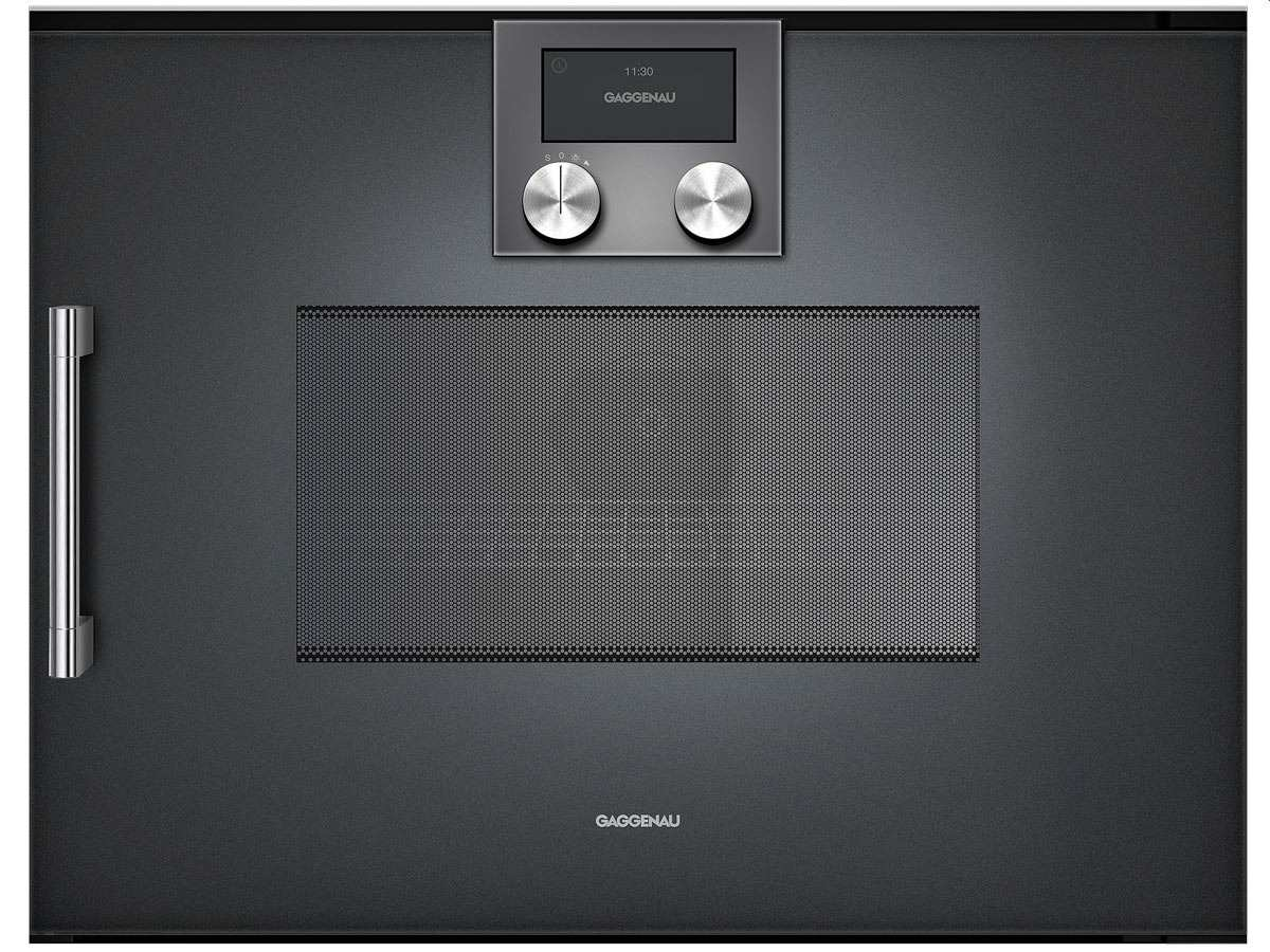 gaggenau bmp 250 100 mikrowellen backofen serie 200 anthrazit. Black Bedroom Furniture Sets. Home Design Ideas