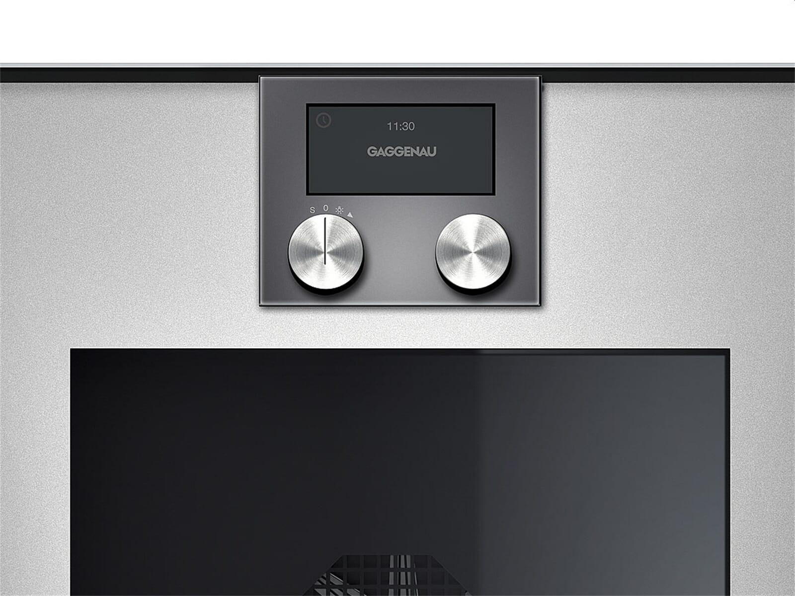 gaggenau bop 220 111 backofen serie 200 metallic. Black Bedroom Furniture Sets. Home Design Ideas
