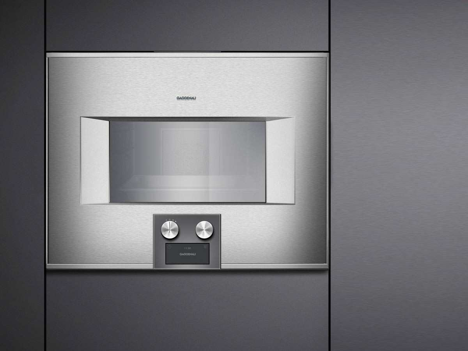 gaggenau bs 455 110 dampfbackofen serie 400 edelstahl glas. Black Bedroom Furniture Sets. Home Design Ideas