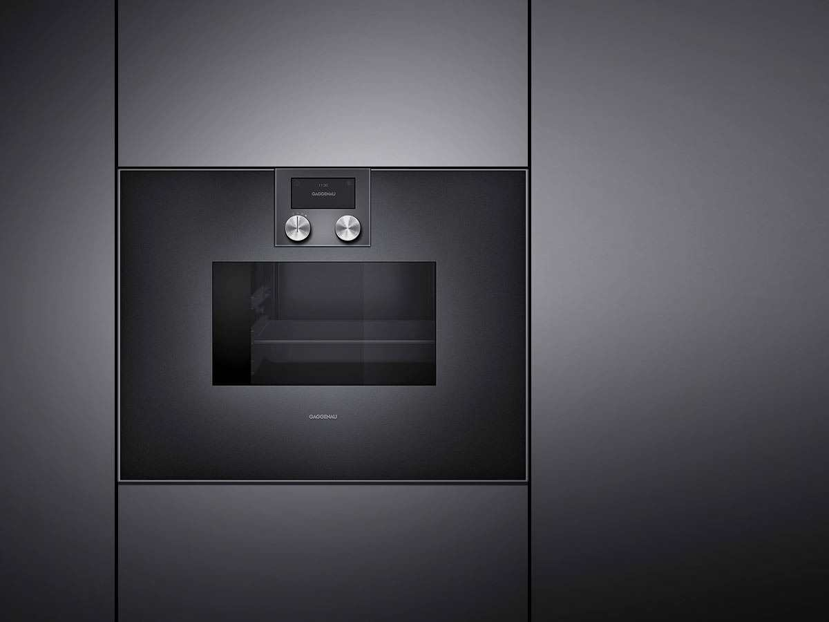 gaggenau bs 470 101 dampfbackofen serie 400 anthrazit. Black Bedroom Furniture Sets. Home Design Ideas